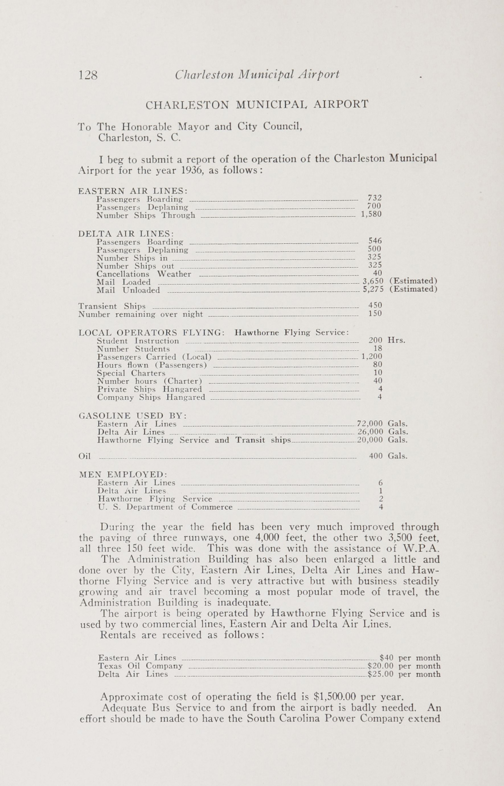 Charleston Yearbook, 1936, page 128