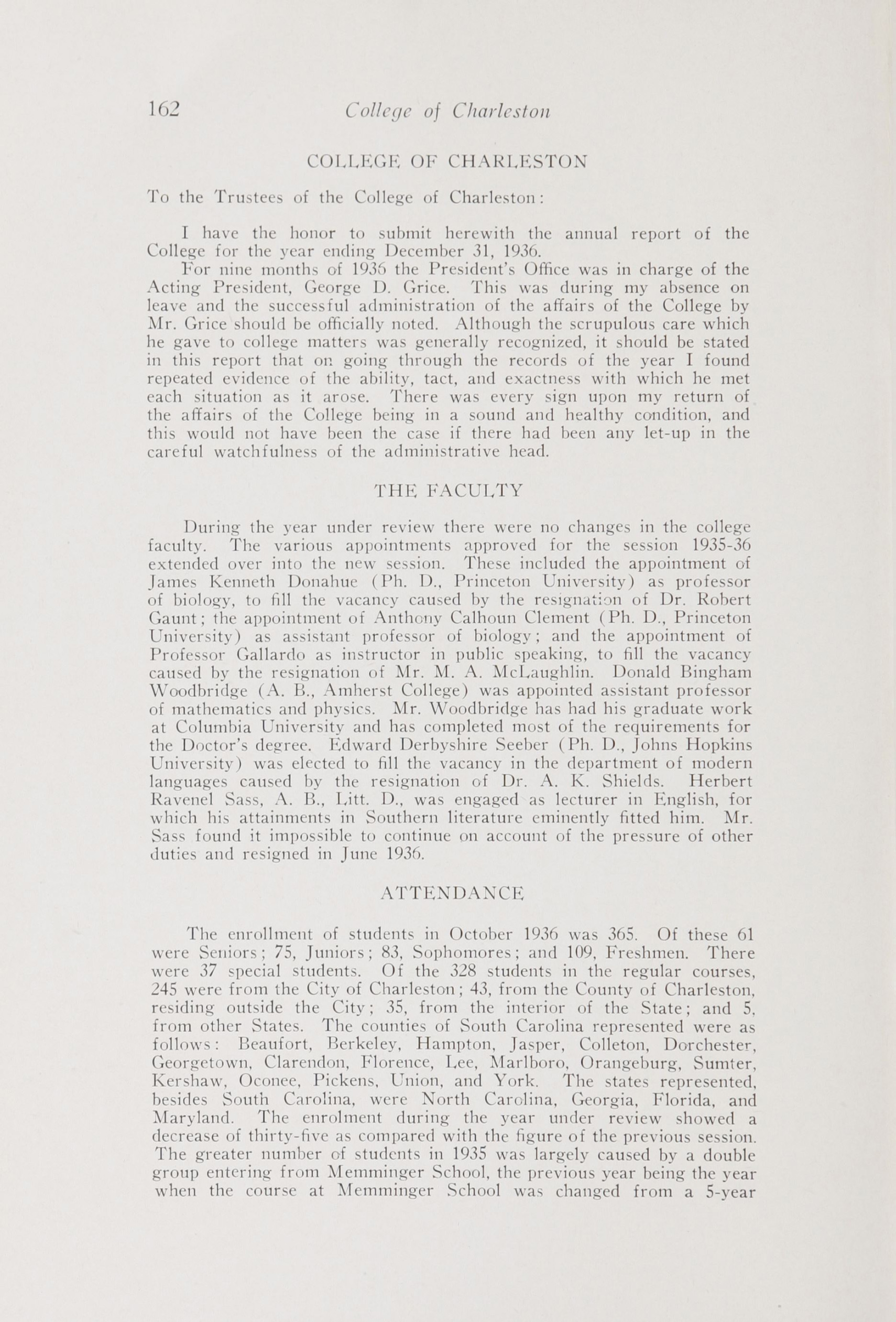 Charleston Yearbook, 1936, page 162