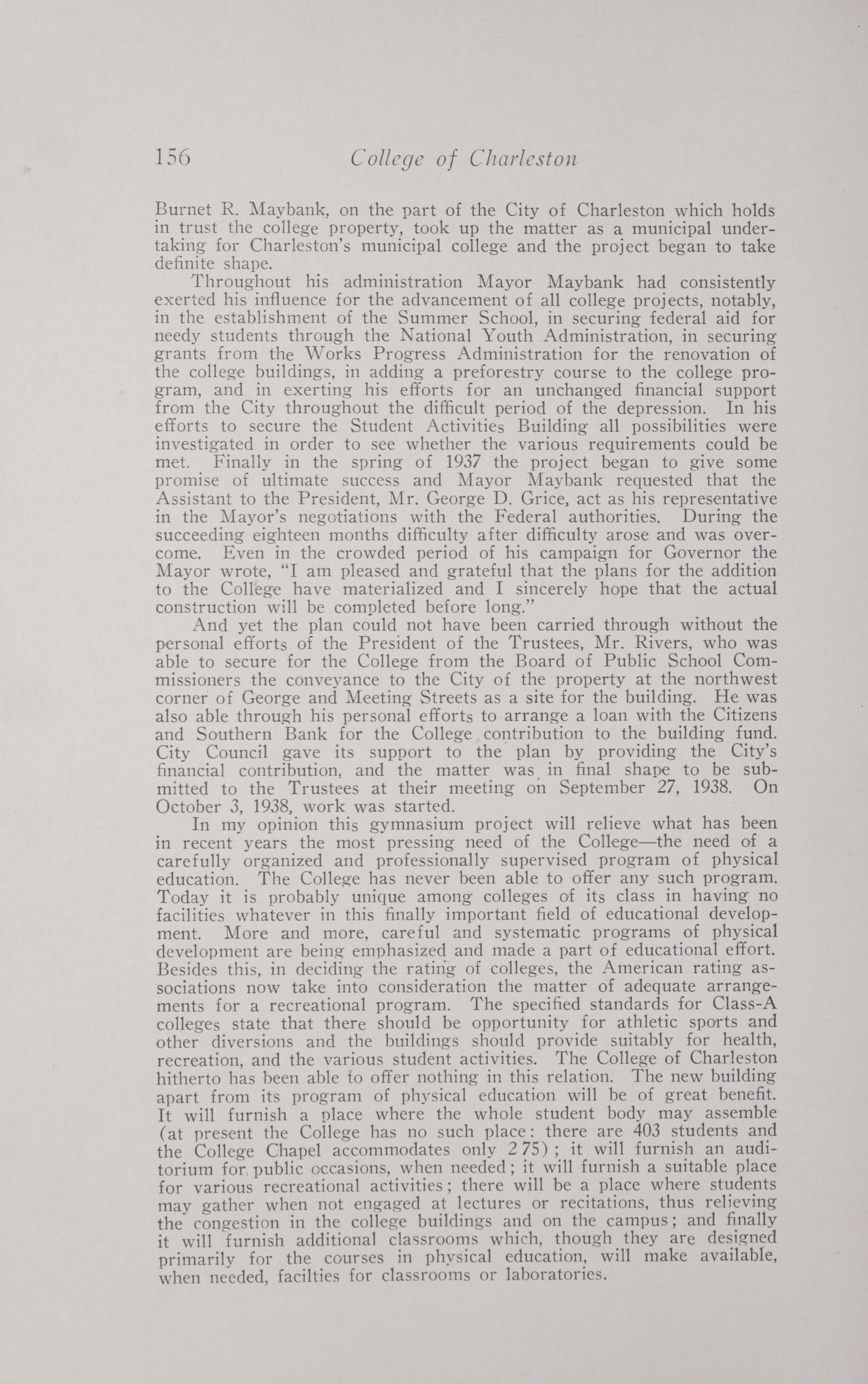 Charleston Yearbook, 1938, page 156