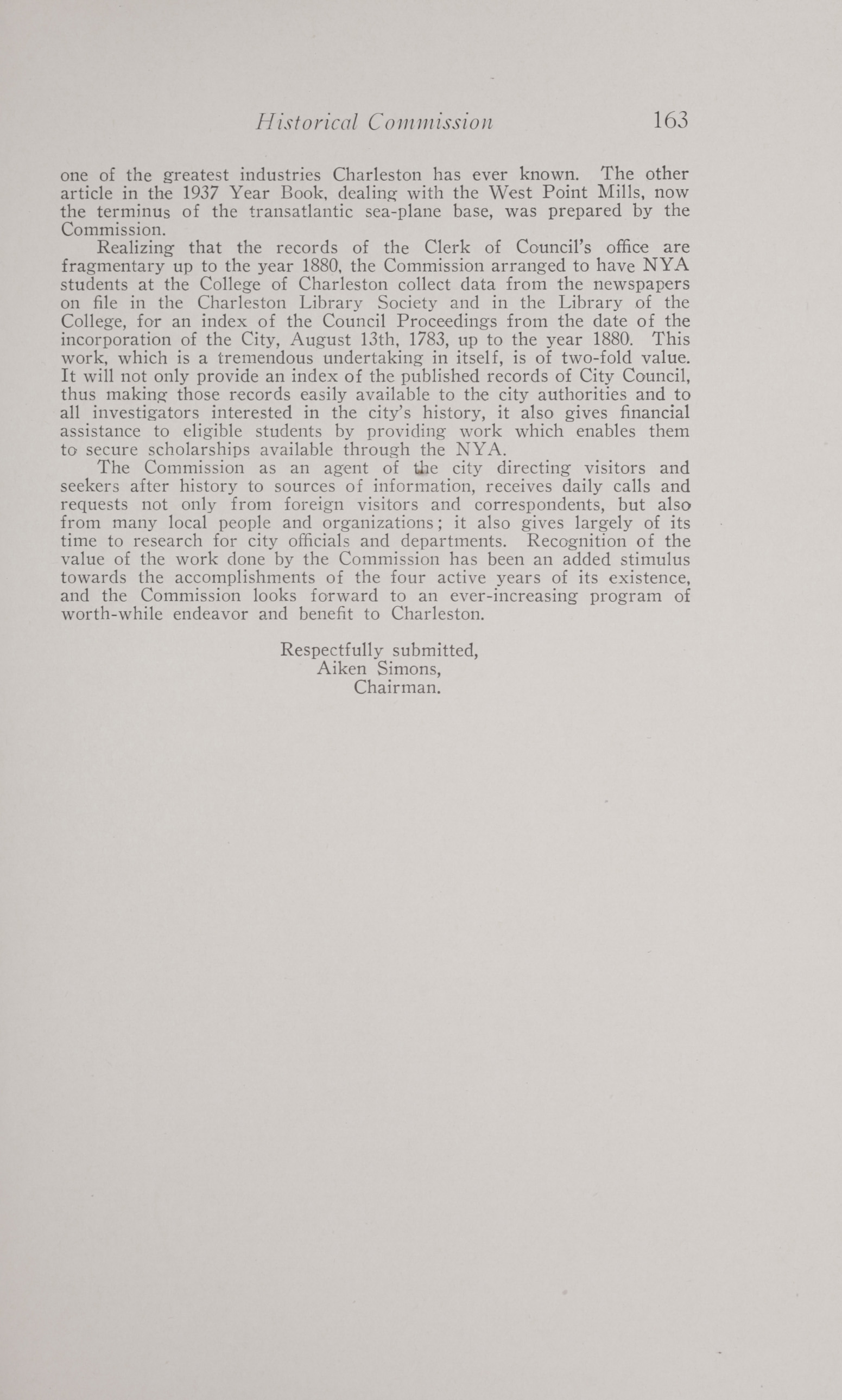 Charleston Yearbook, 1938, page 163
