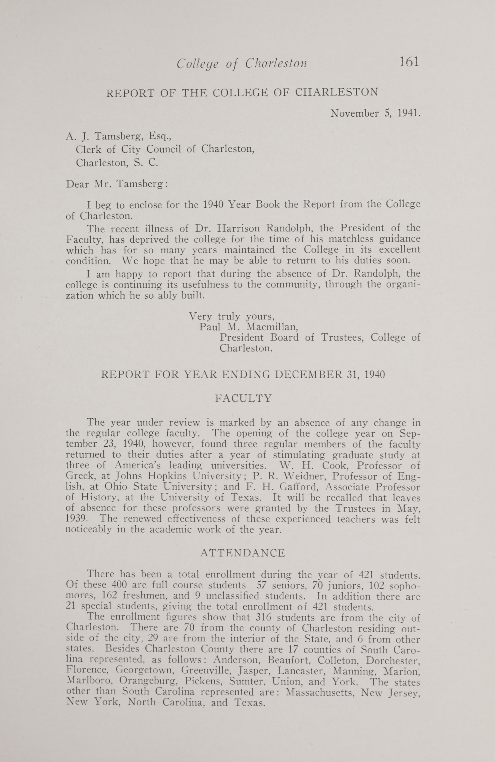 Charleston Yearbook, 1940, page 161