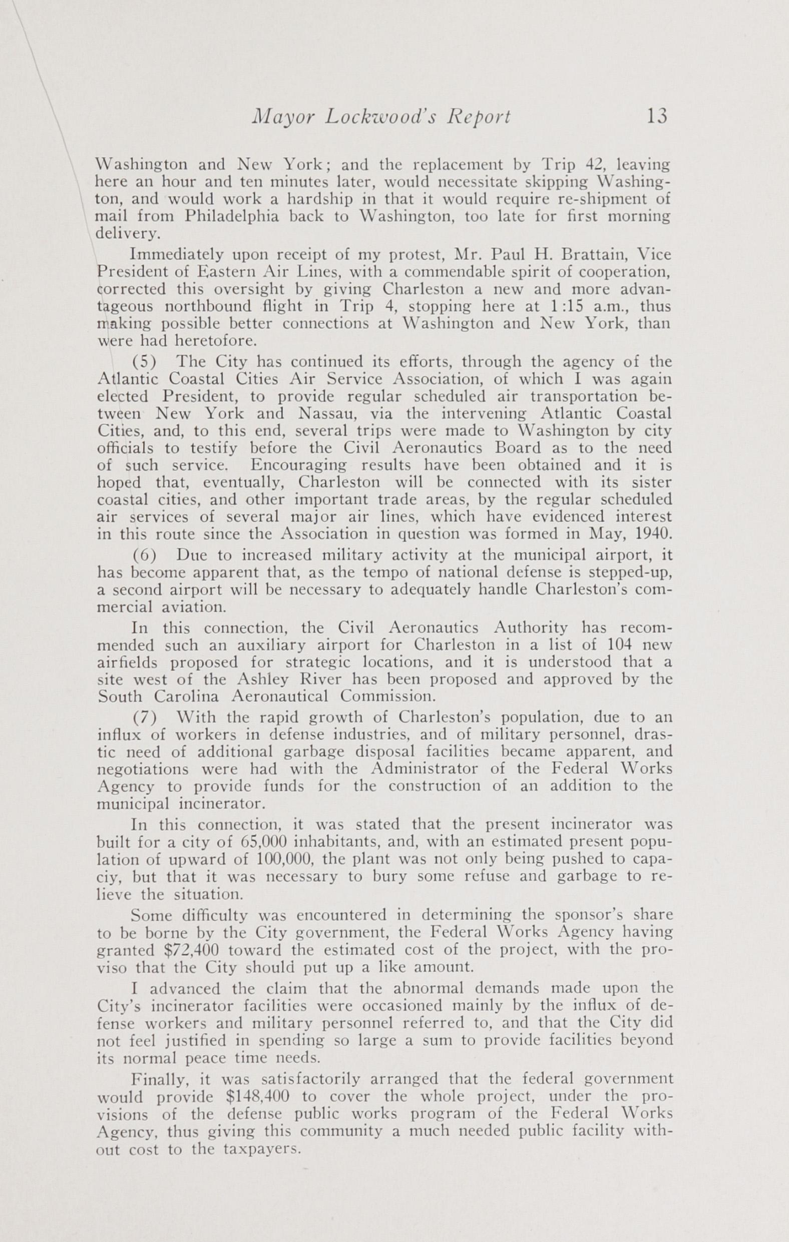 Charleston Yearbook, 1941, page 13