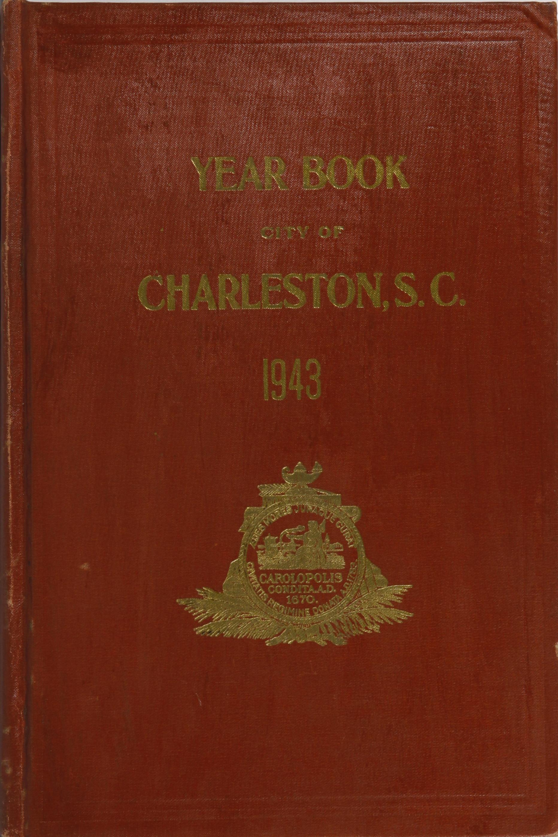 Charleston Yearbook, 1943, cover