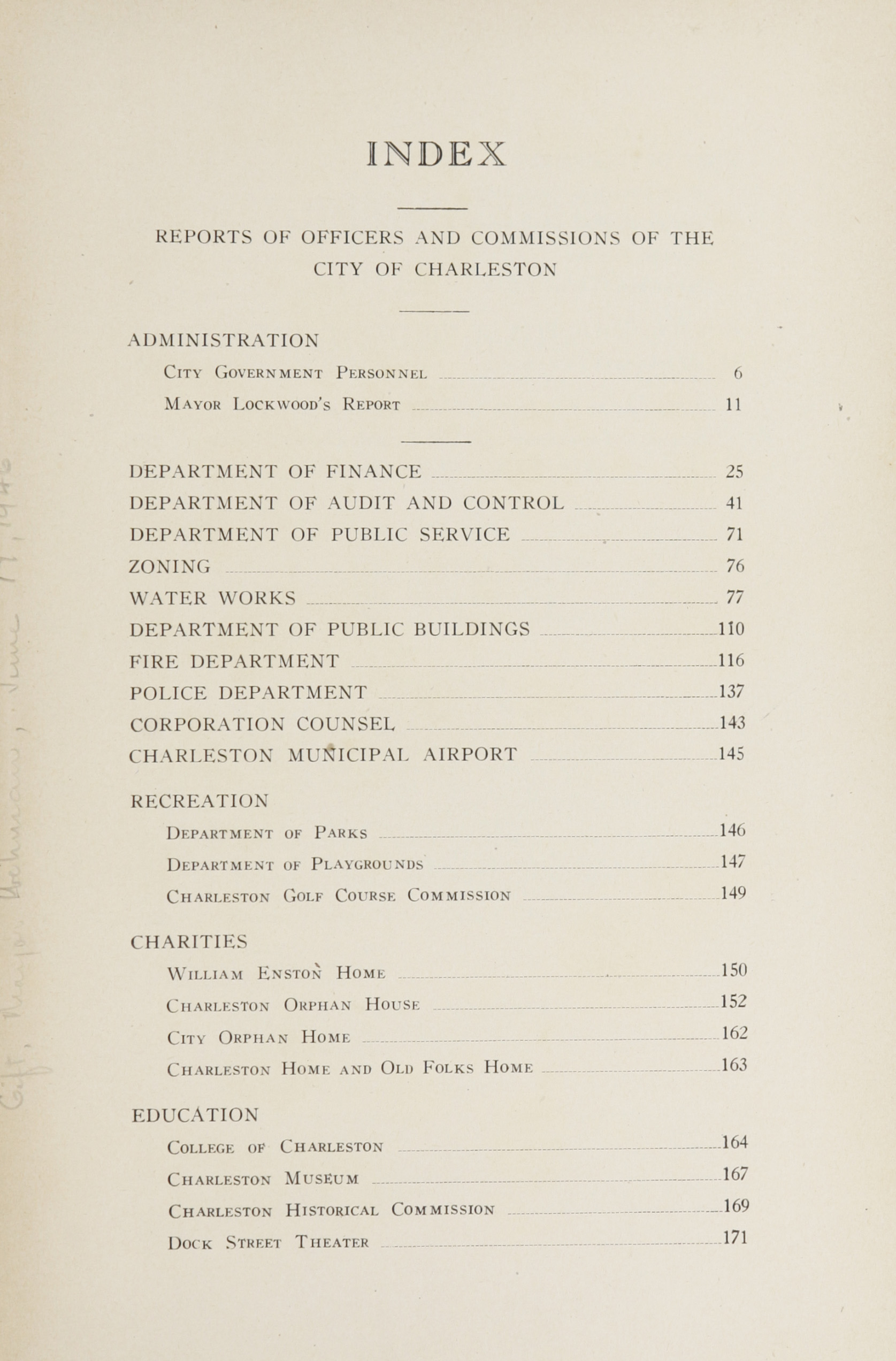 Charleston Yearbook, 1943, page 3