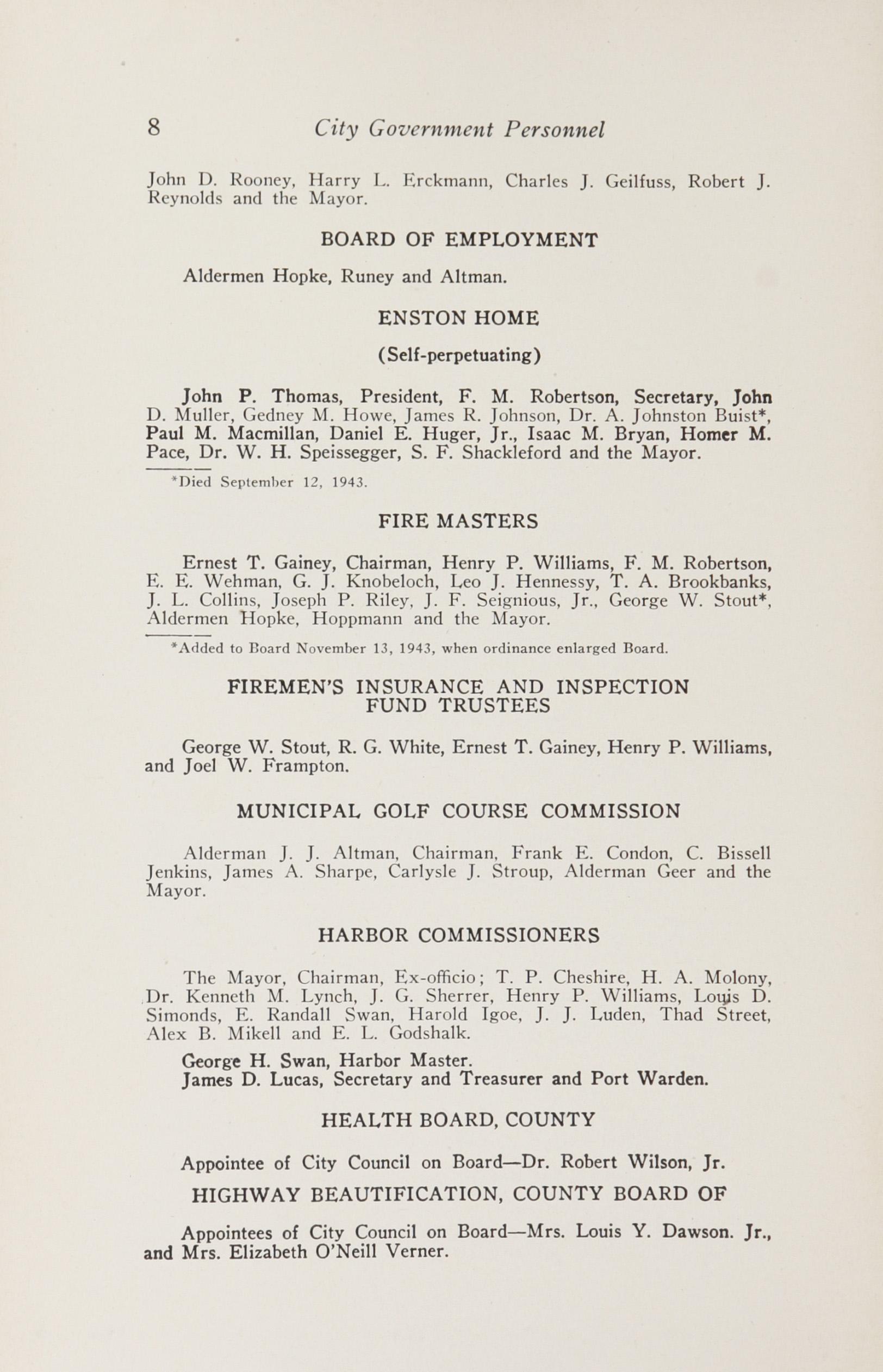 Charleston Yearbook, 1943, page 8