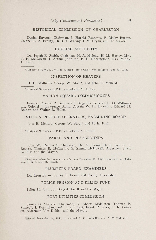 Charleston Yearbook, 1943, page 9