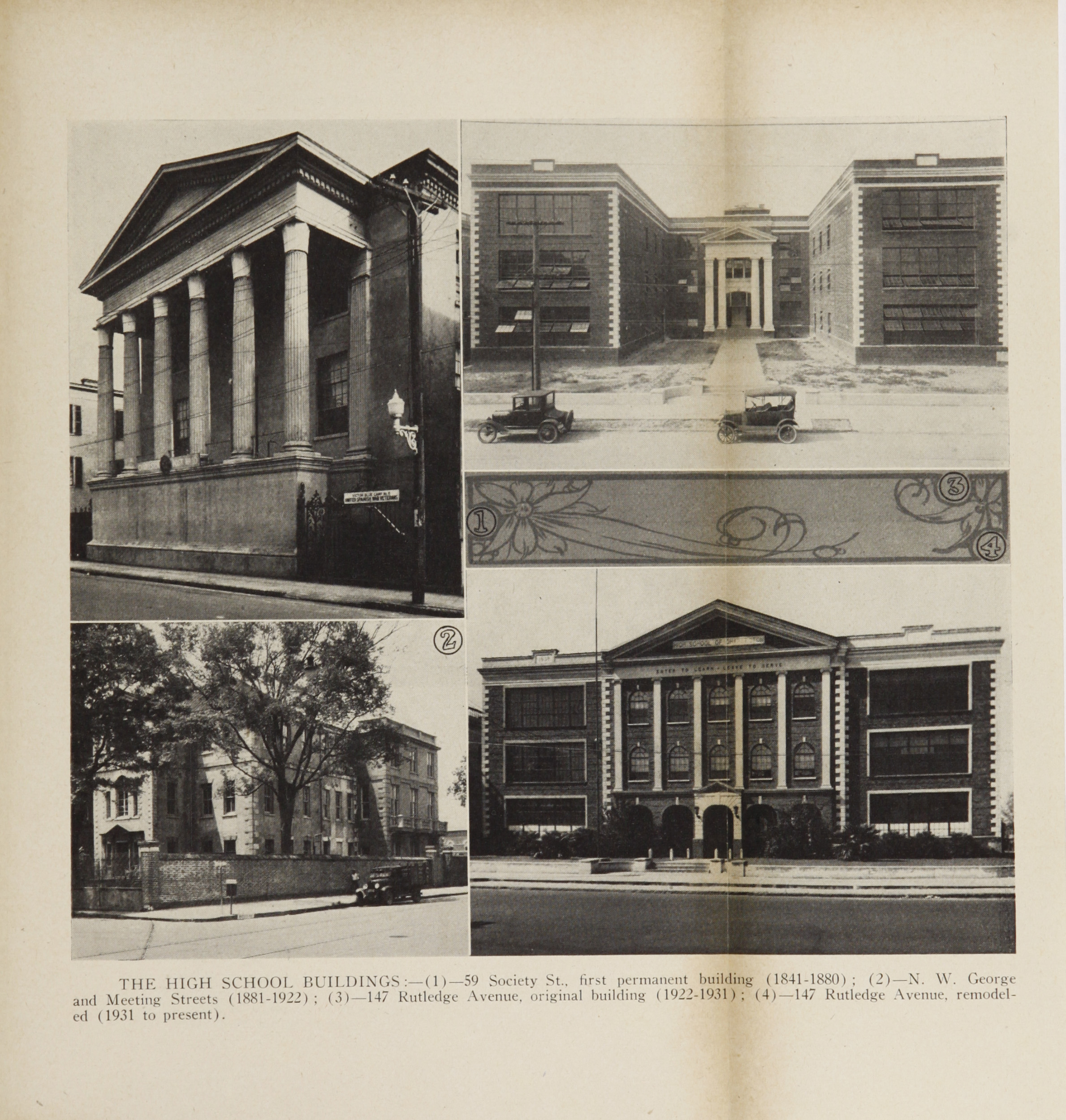 Charleston Yearbook, 1943, insert