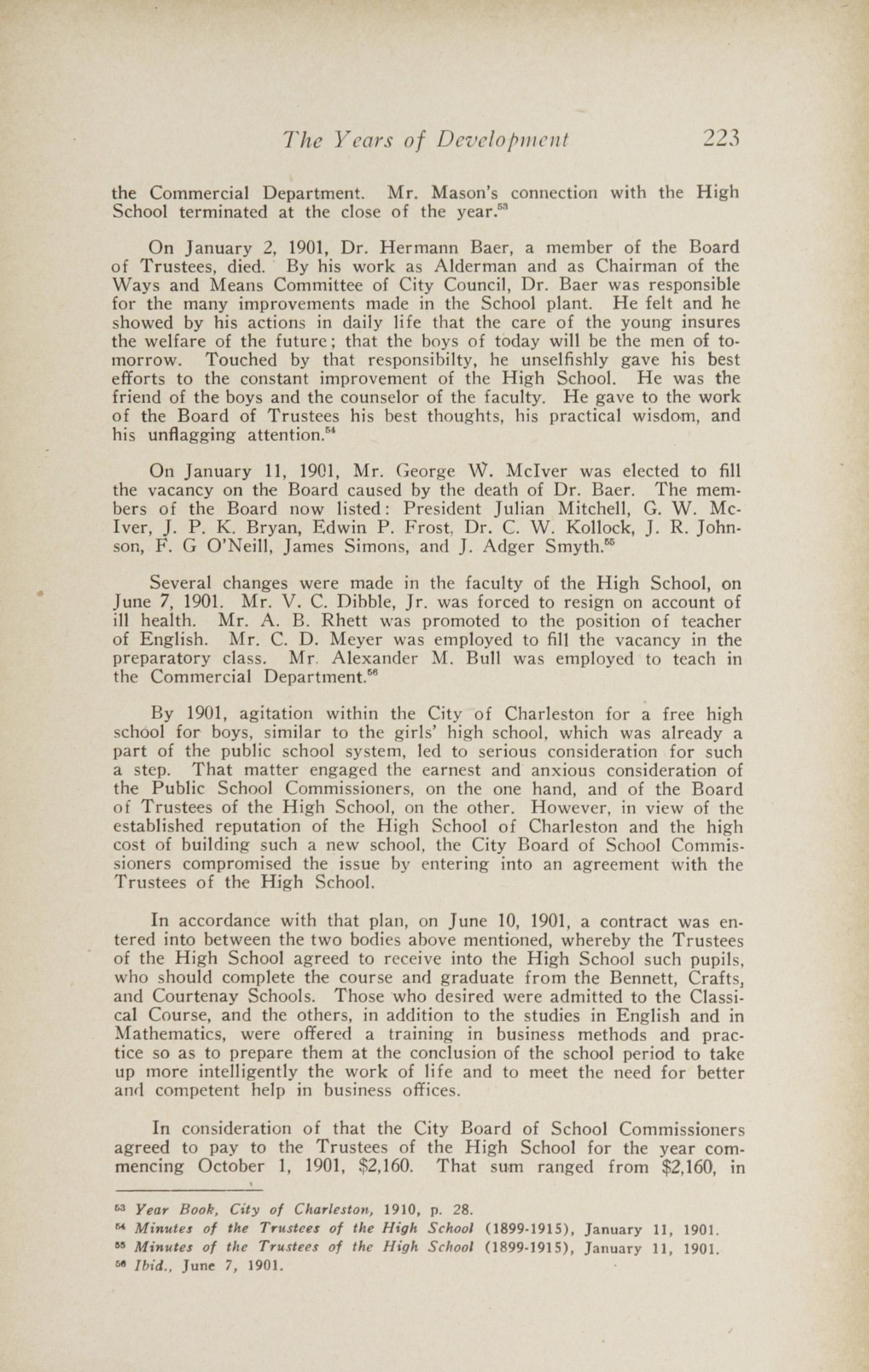 Charleston Yearbook, 1943, page 223