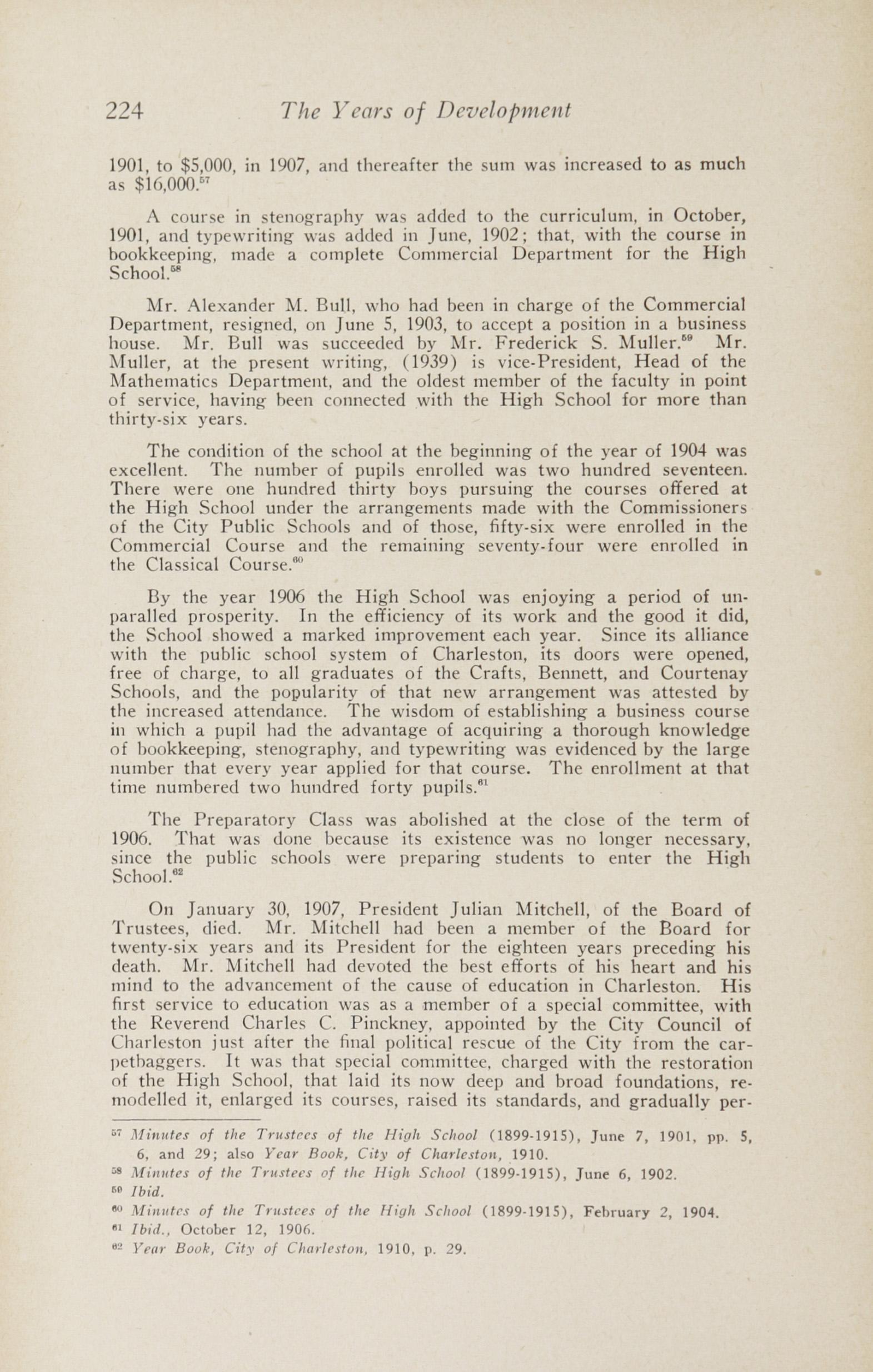 Charleston Yearbook, 1943, page 224