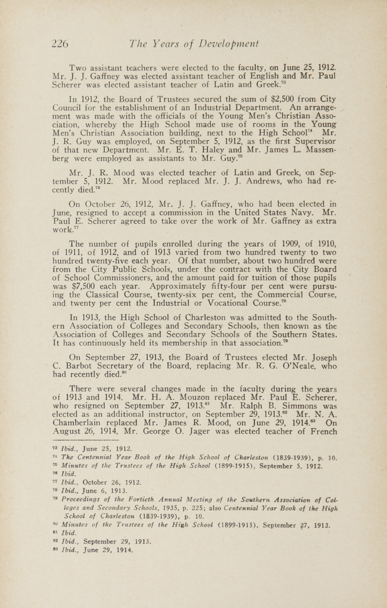 Charleston Yearbook, 1943, page 226
