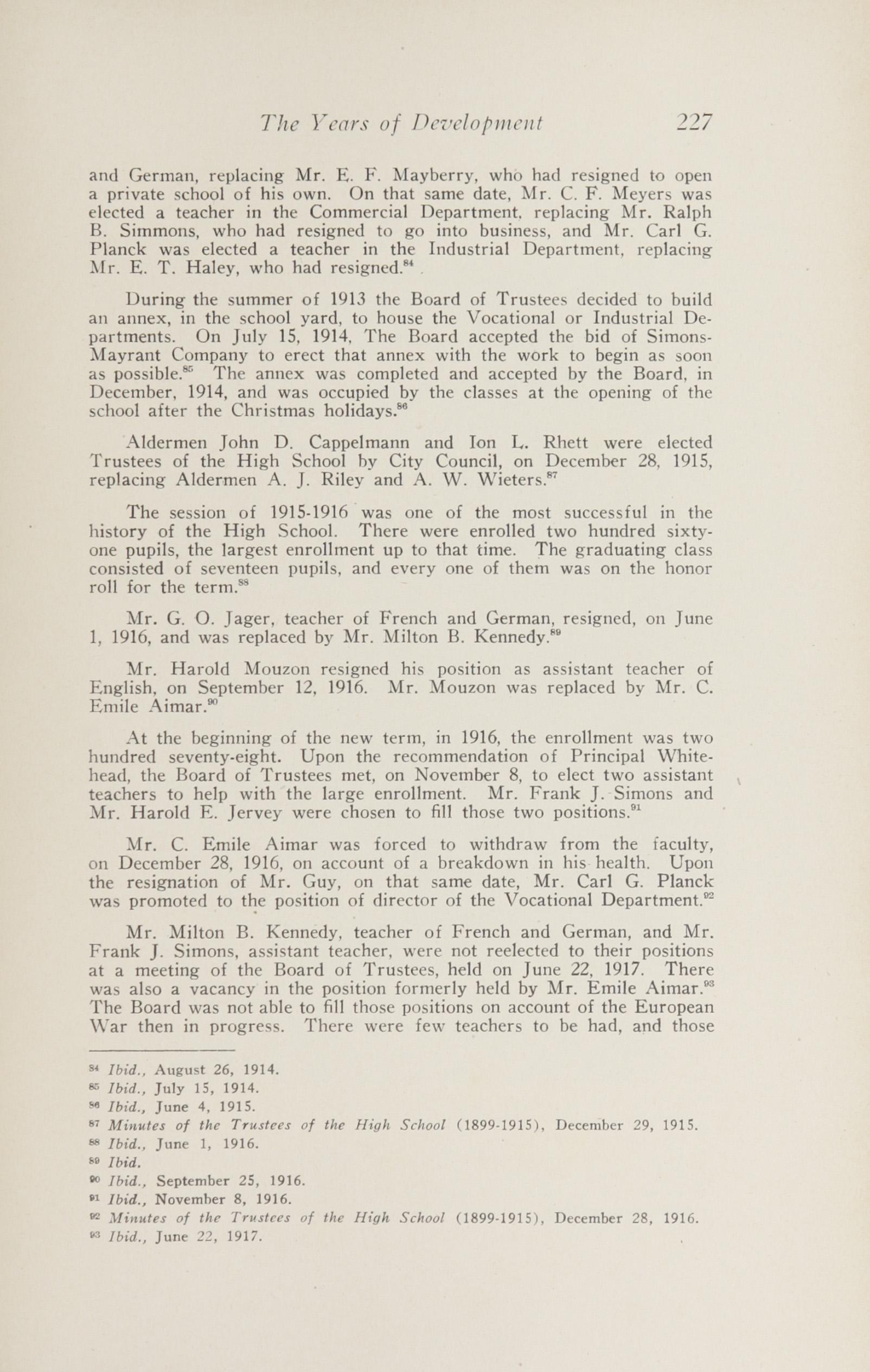 Charleston Yearbook, 1943, page 227