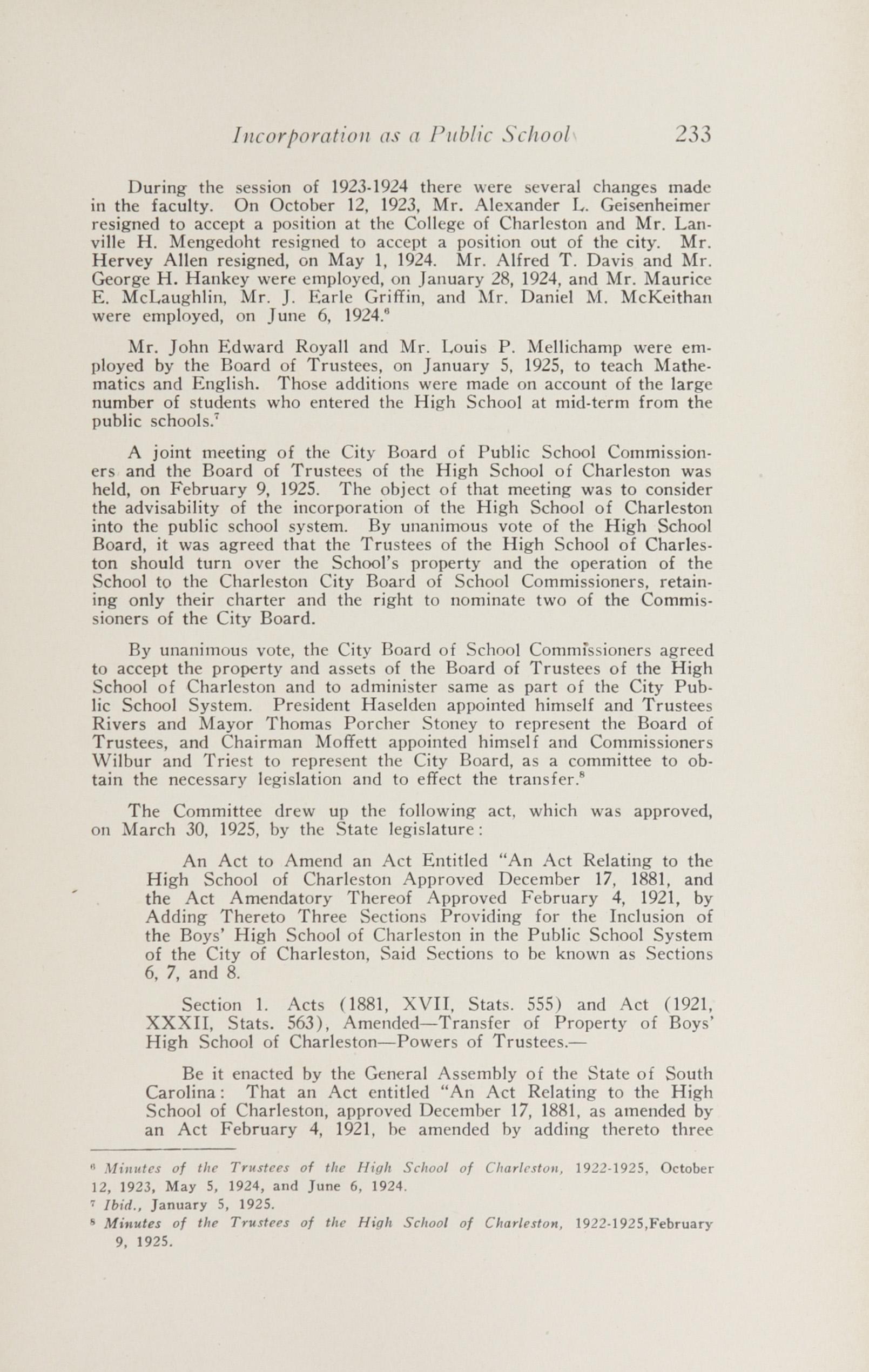 Charleston Yearbook, 1943, page 233