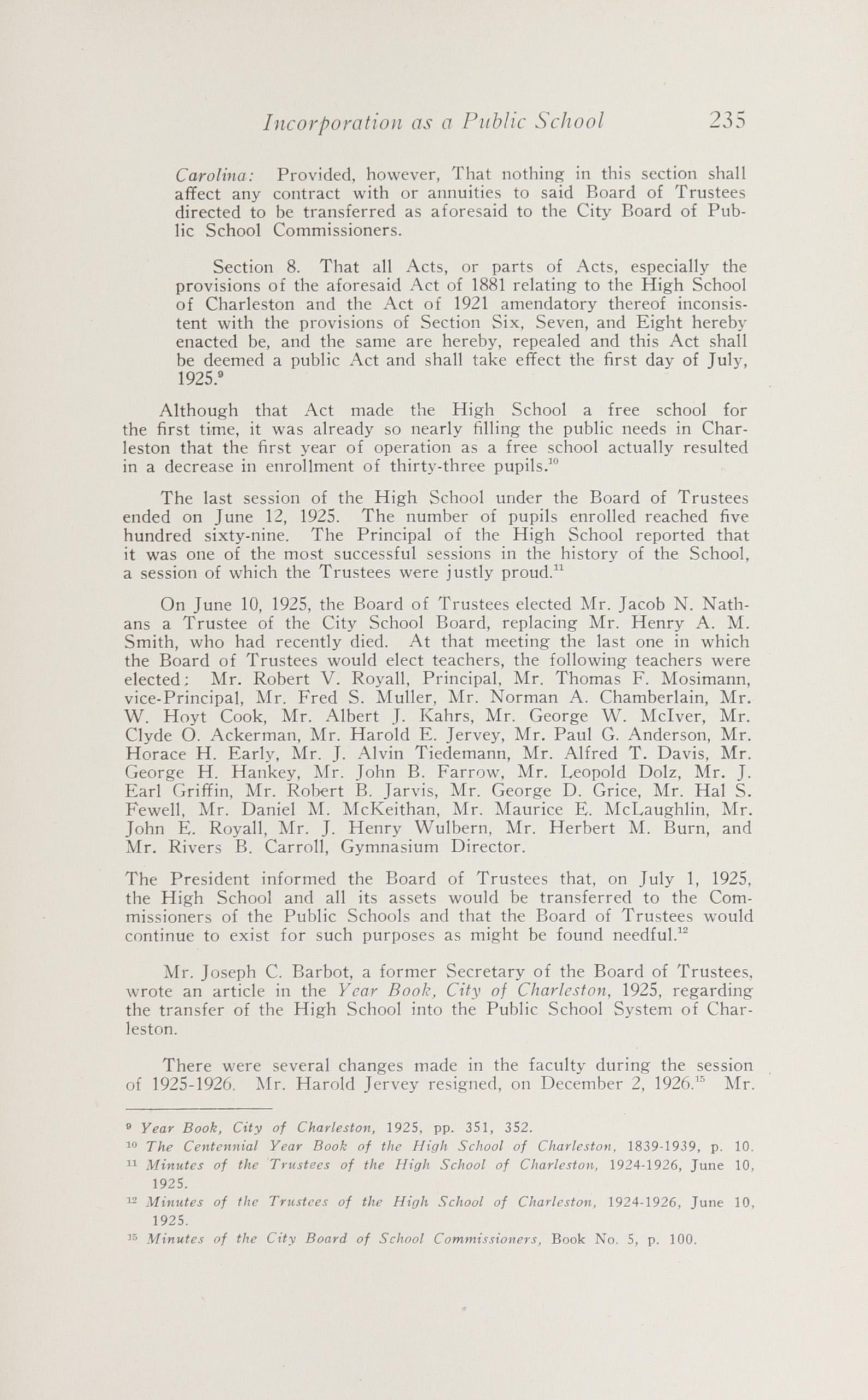 Charleston Yearbook, 1943, page 235