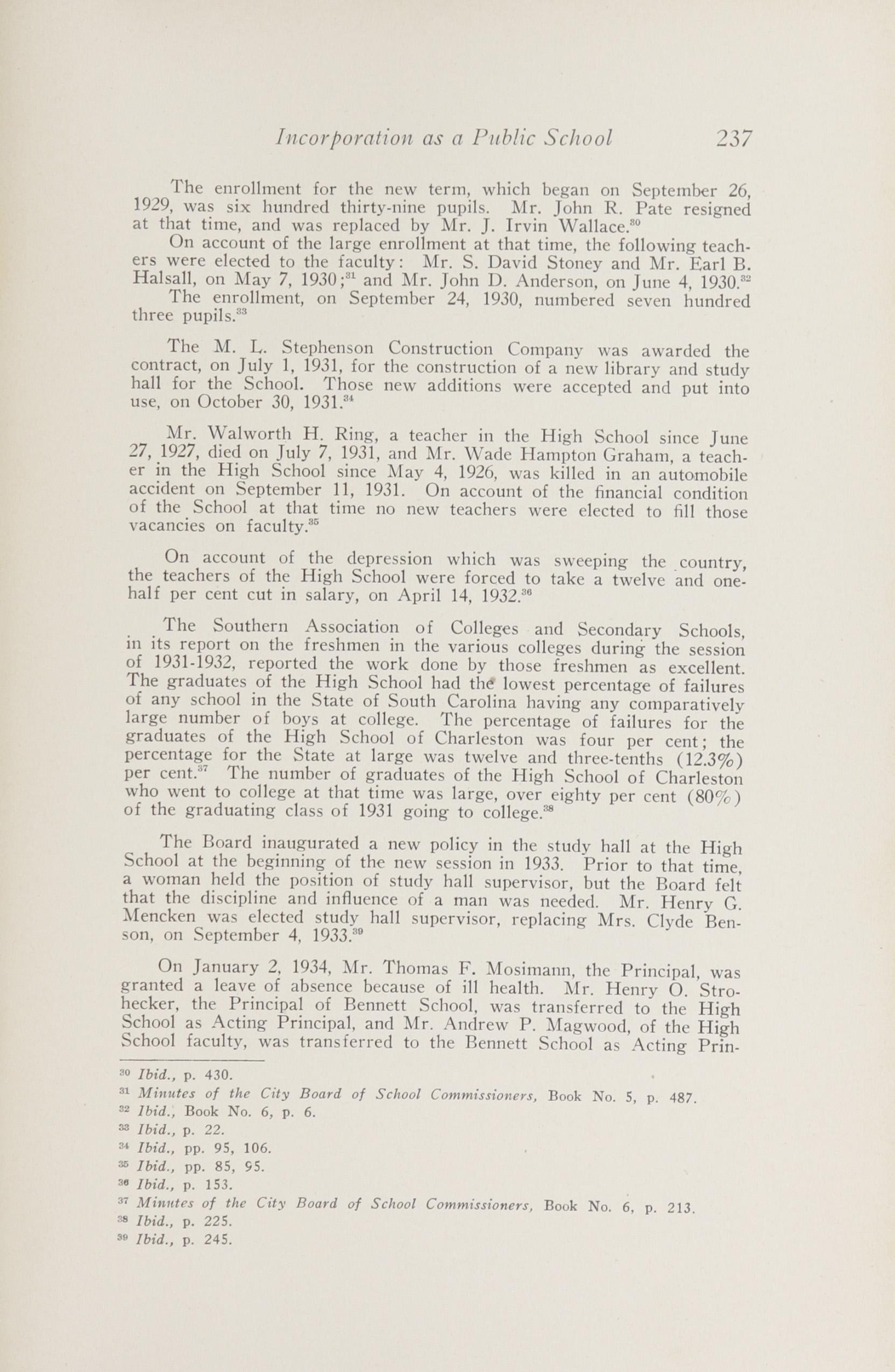 Charleston Yearbook, 1943, page 237