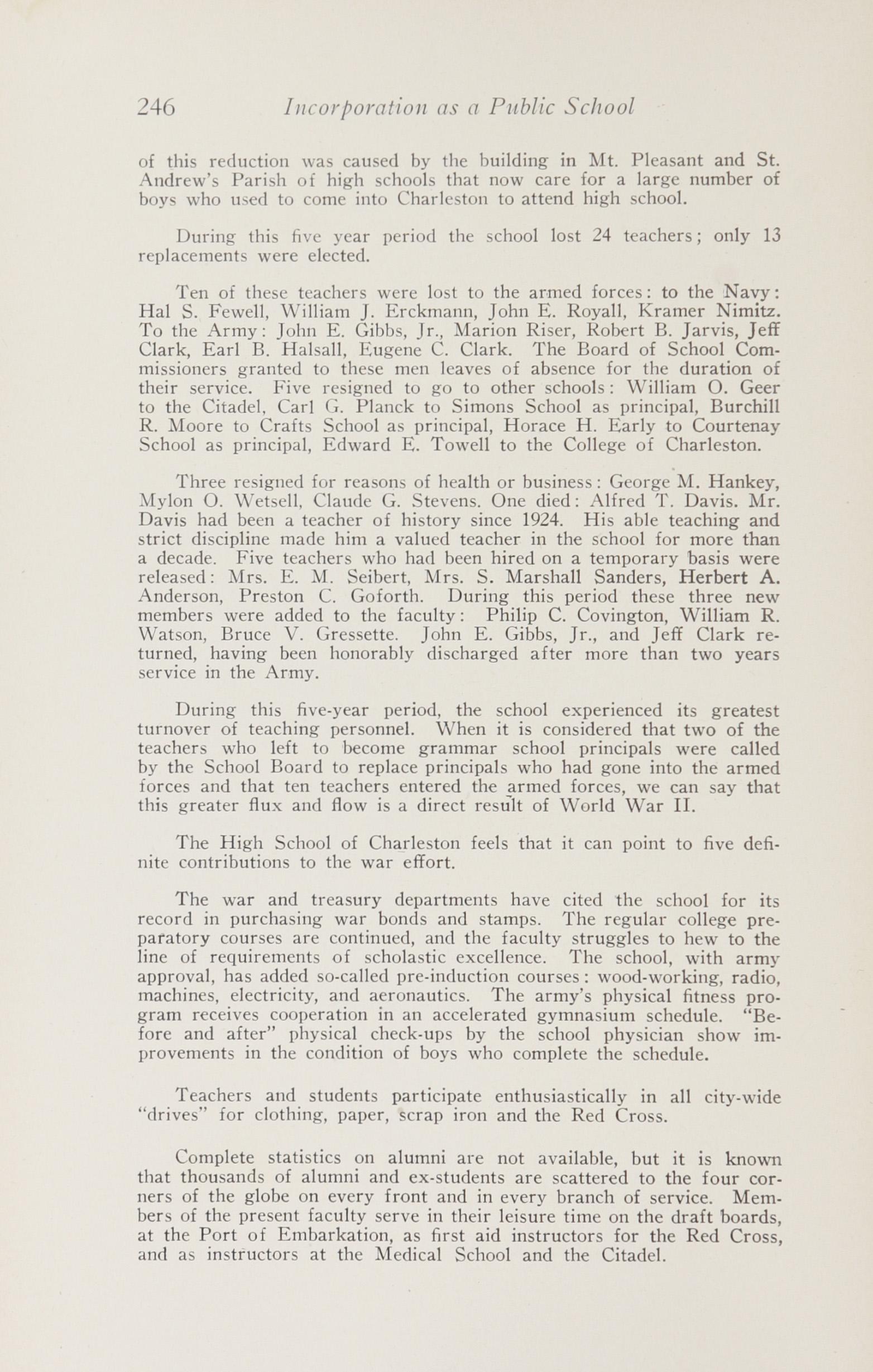 Charleston Yearbook, 1943, page 246