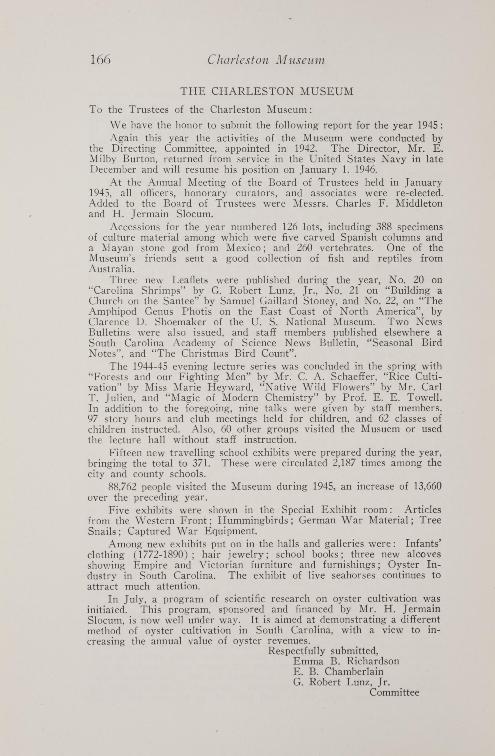 Charleston Yearbook, 1945, page 166