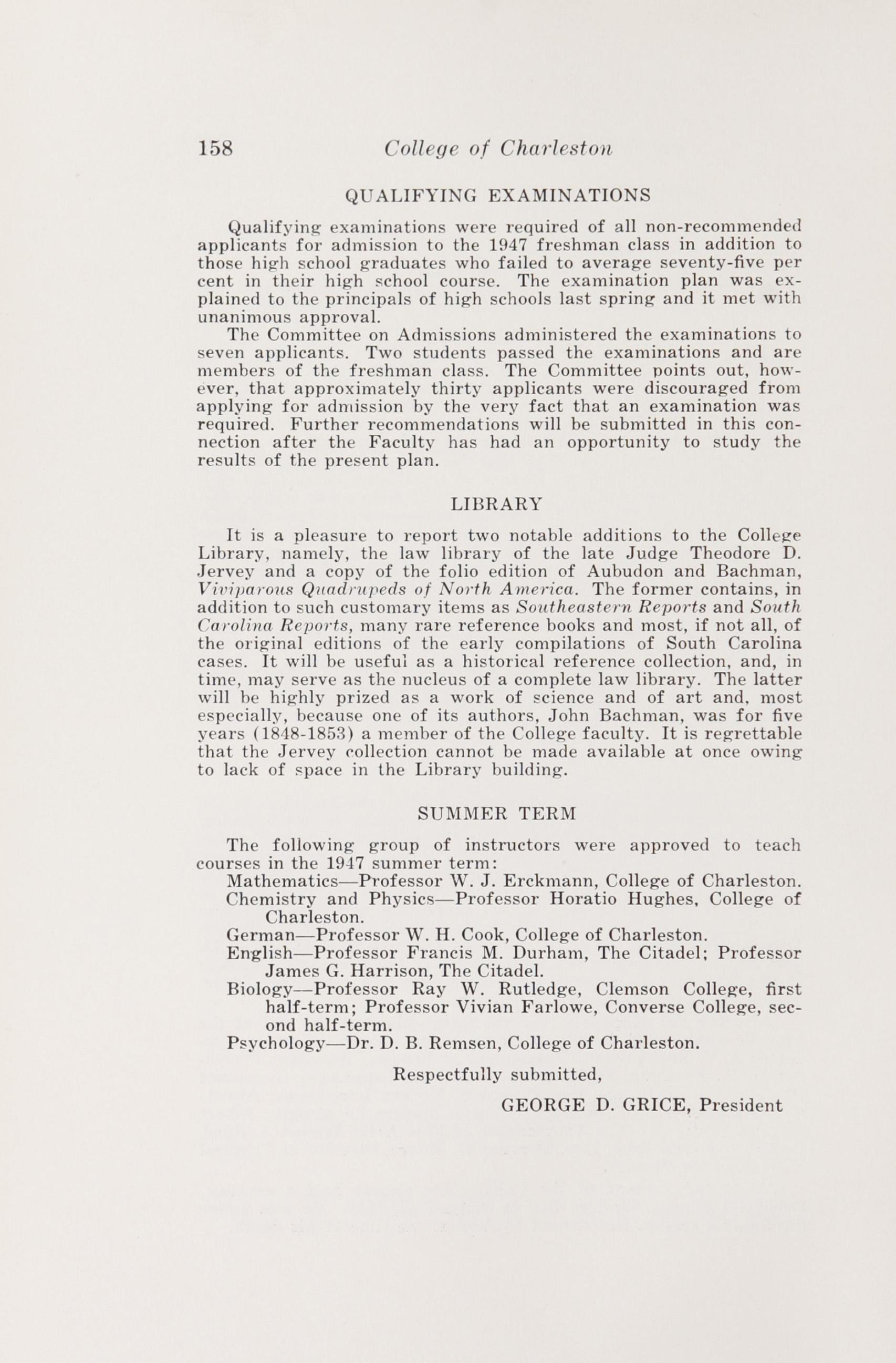 Charleston Yearbook, 1947, page 158