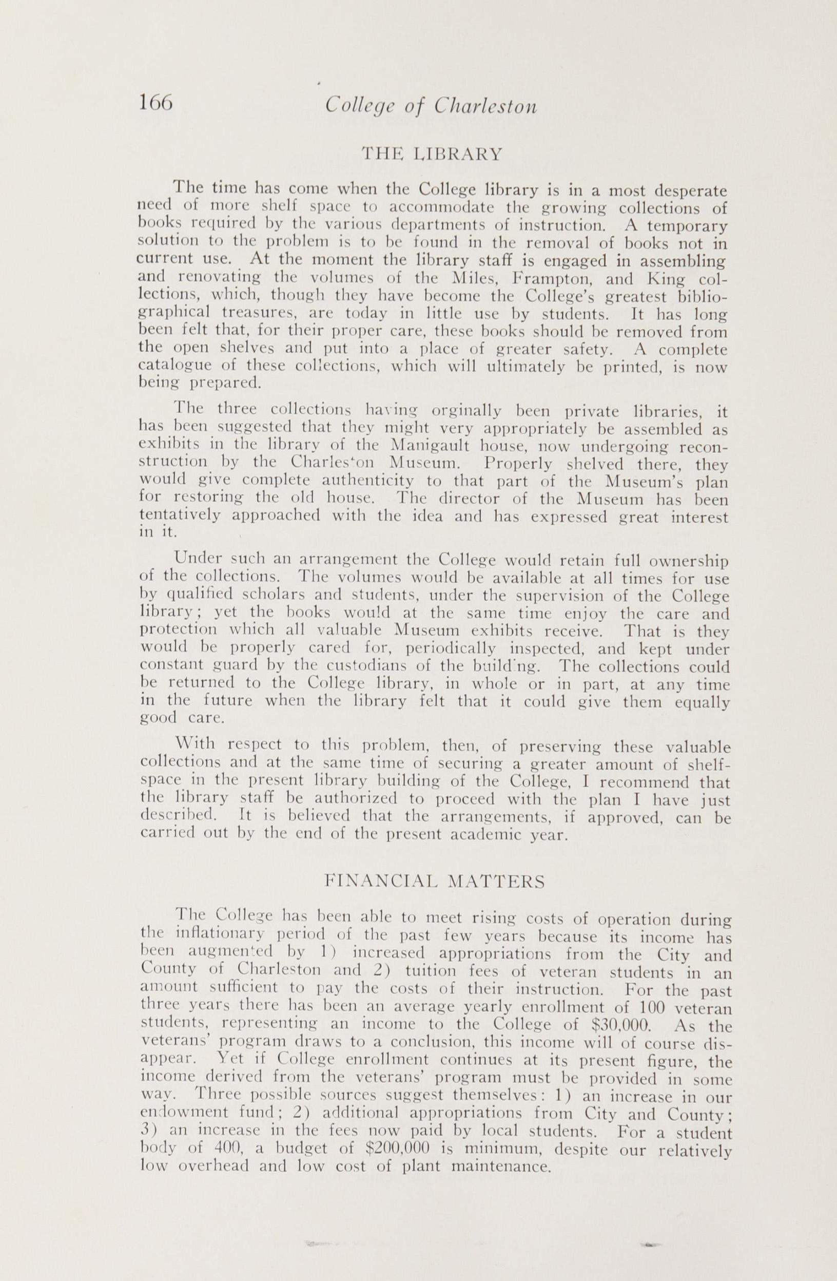 Charleston Yearbook, 1948, page 166