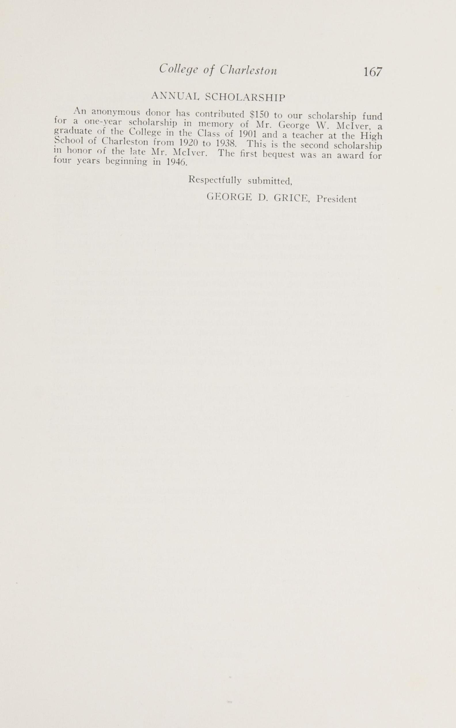 Charleston Yearbook, 1948, page 167