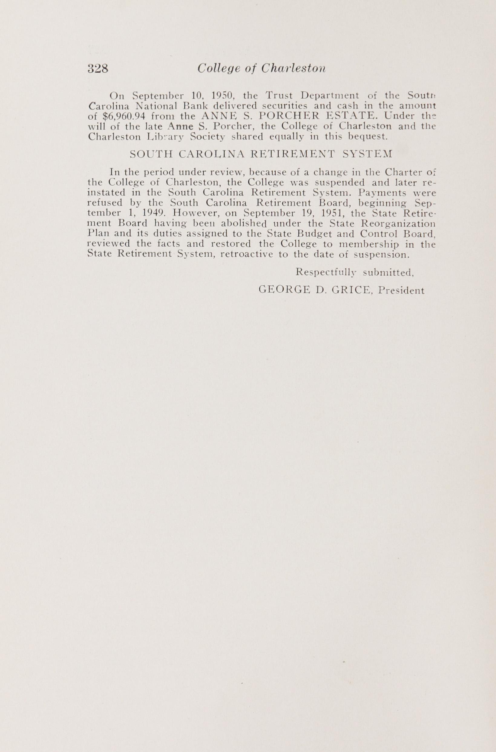 Charleston Yearbook, 1949-50-51, Page 328