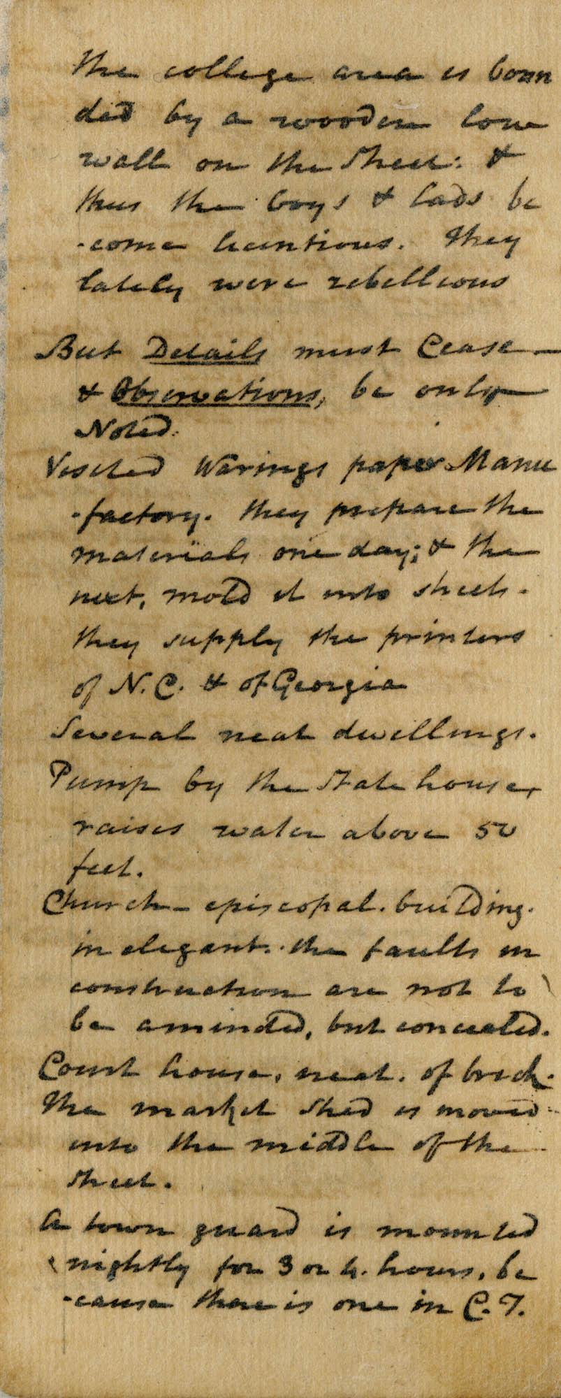 Diary of Charles Drayton, 1814 page 8