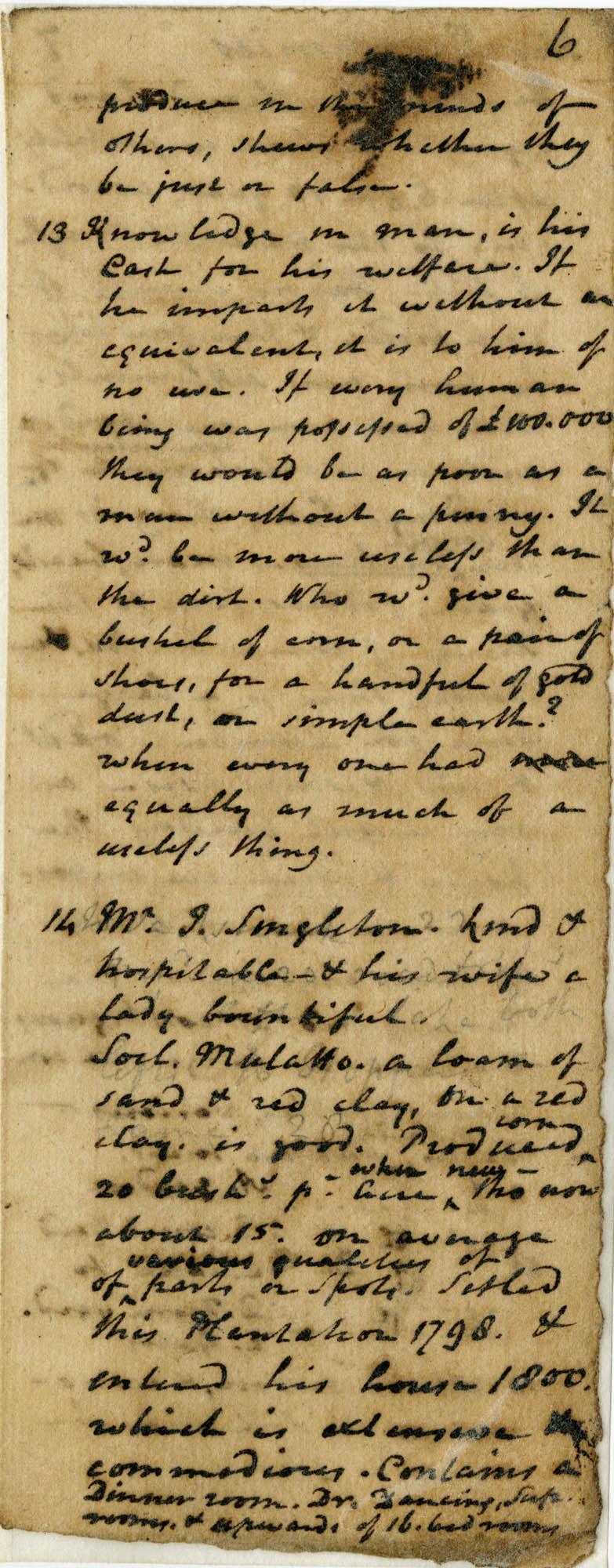Diary of Charles Drayton, 1814 page 30