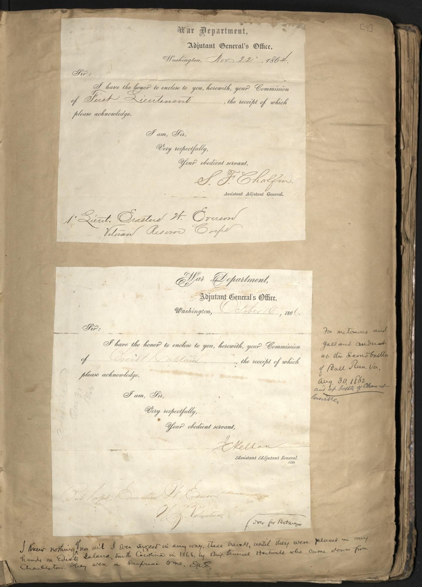 Erastus Everson Diary 1861-1893, page 3