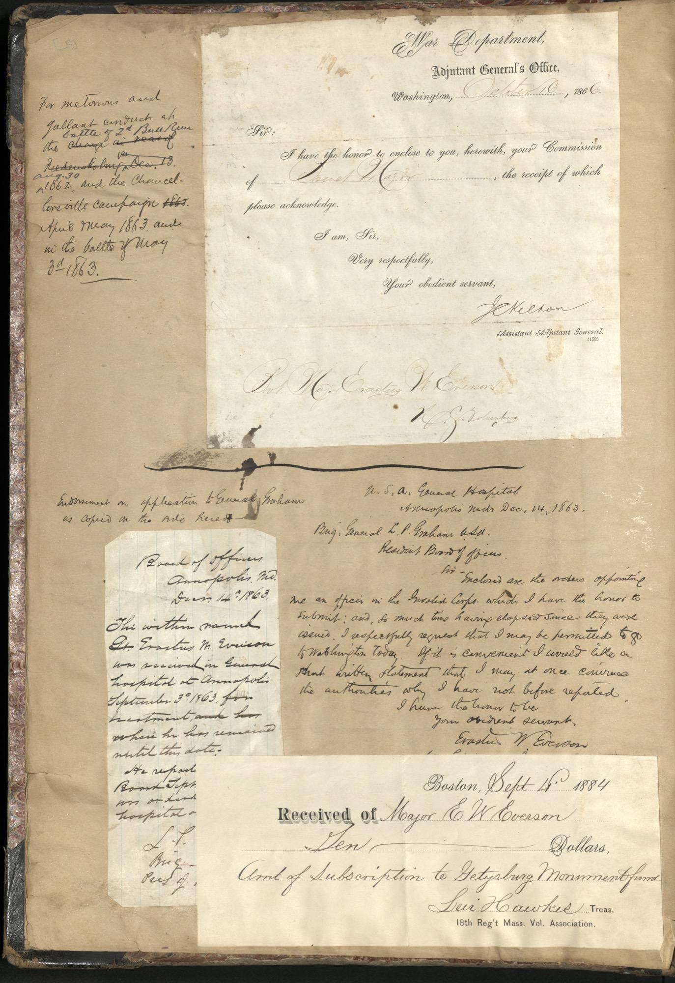 Erastus Everson Diary 1861-1893, page 4