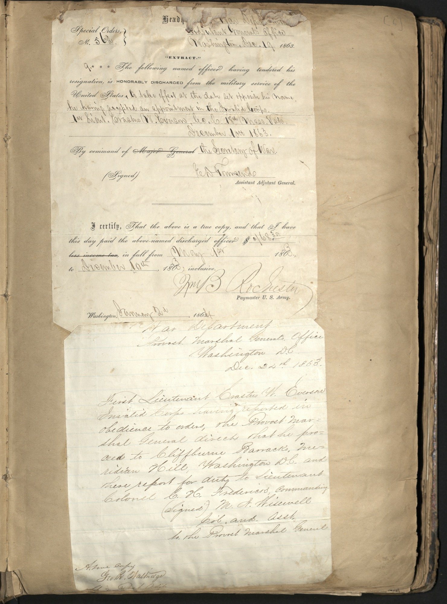 Erastus Everson Diary 1861-1893, page 5