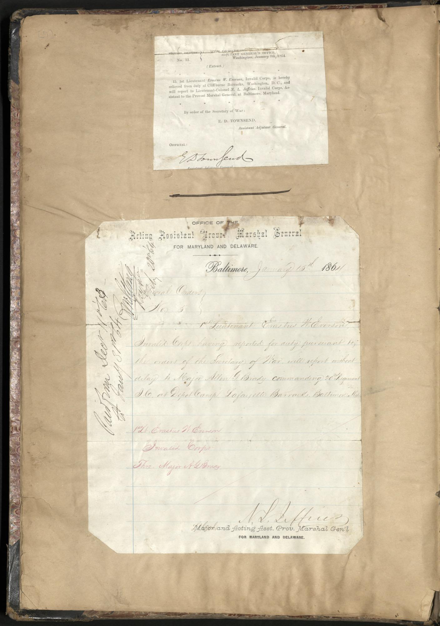 Erastus Everson Diary 1861-1893, page 6