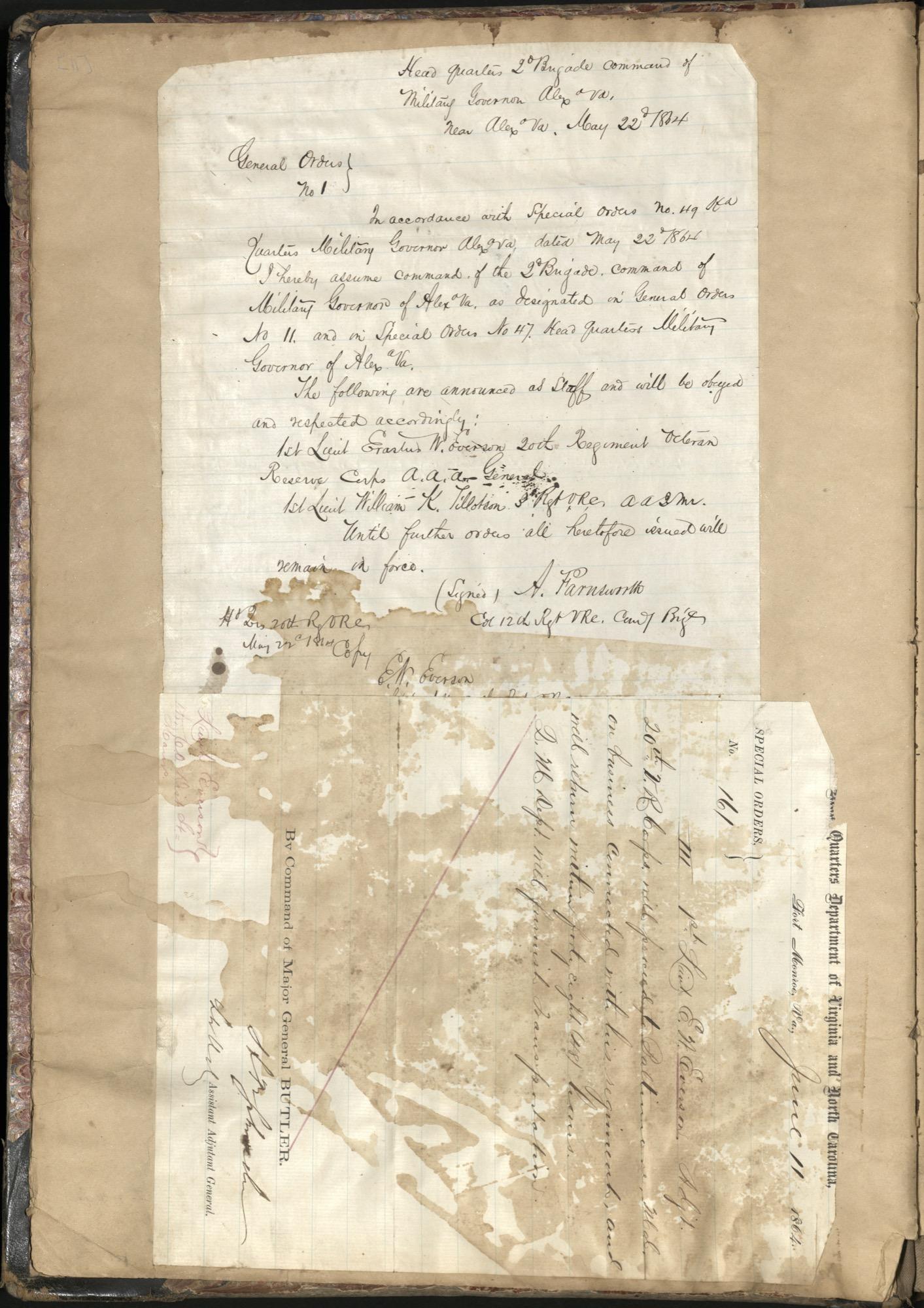Erastus Everson Diary 1861-1893, page 10