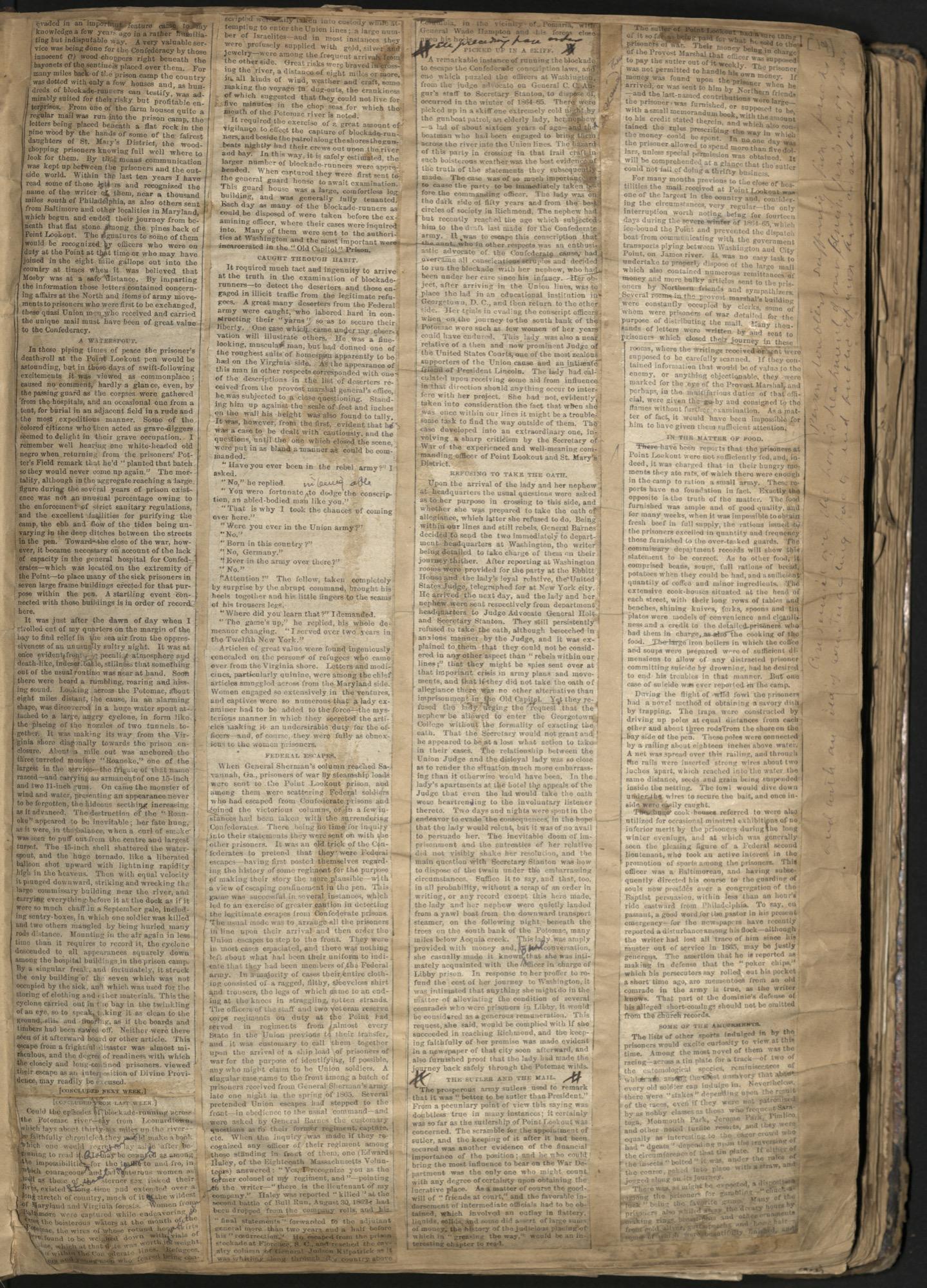 Erastus Everson Diary 1861-1893, page 13