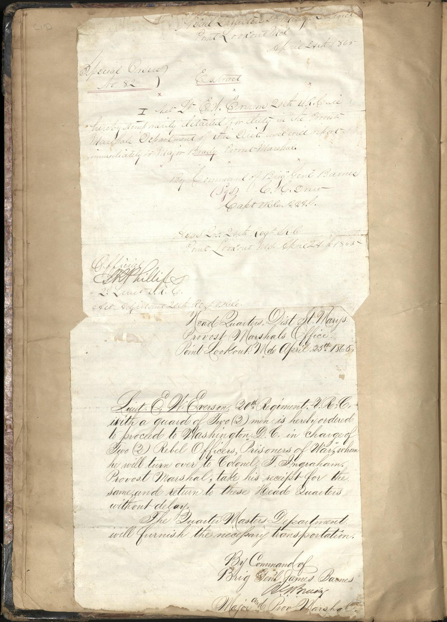 Erastus Everson Diary 1861-1893, page 18