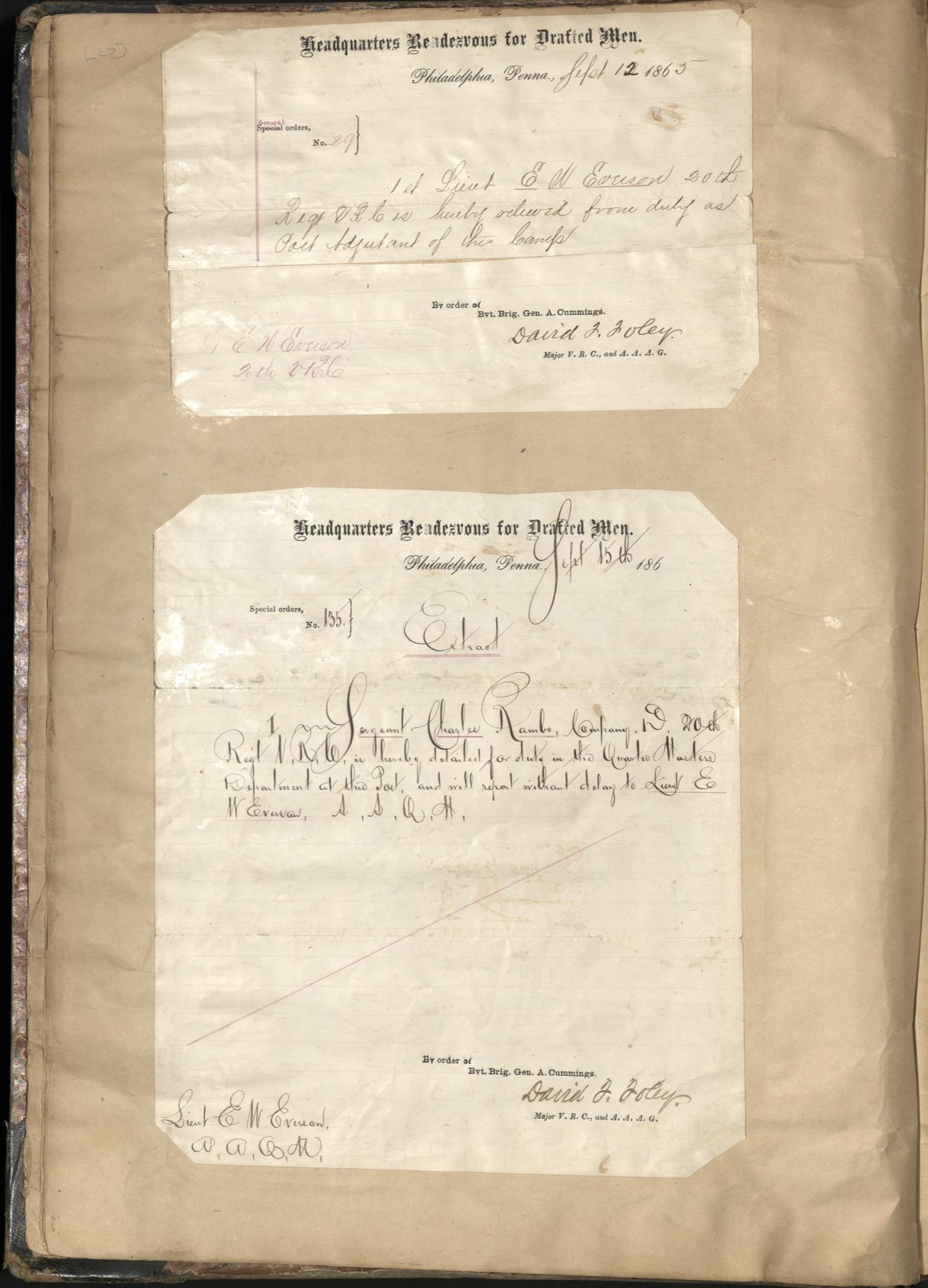 Erastus Everson Diary 1861-1893, page 24