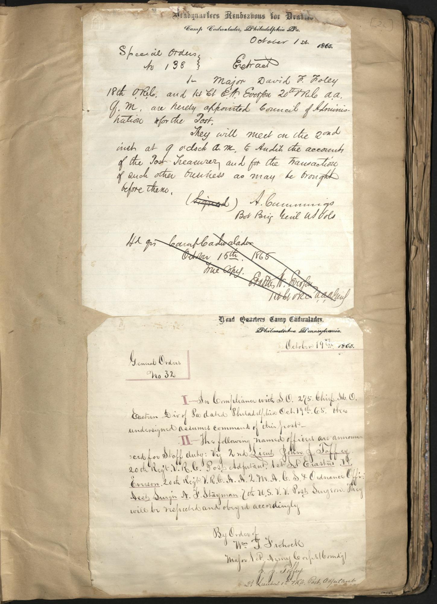 Erastus Everson Diary 1861-1893, page 25