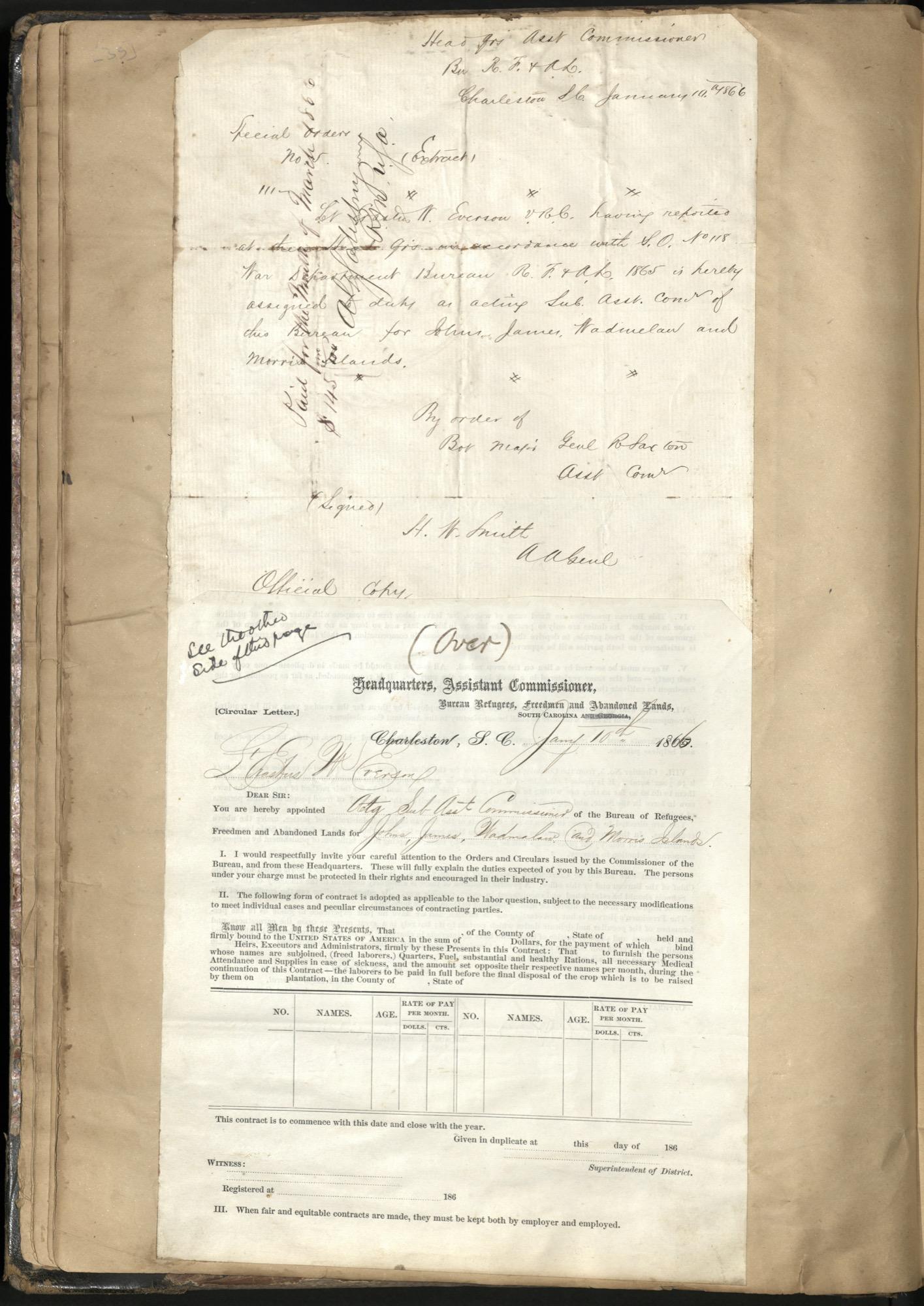 Erastus Everson Diary 1861-1893, page 34