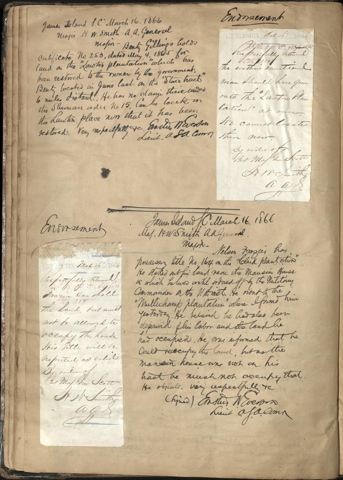 Erastus Everson Diary 1861-1893, page 38