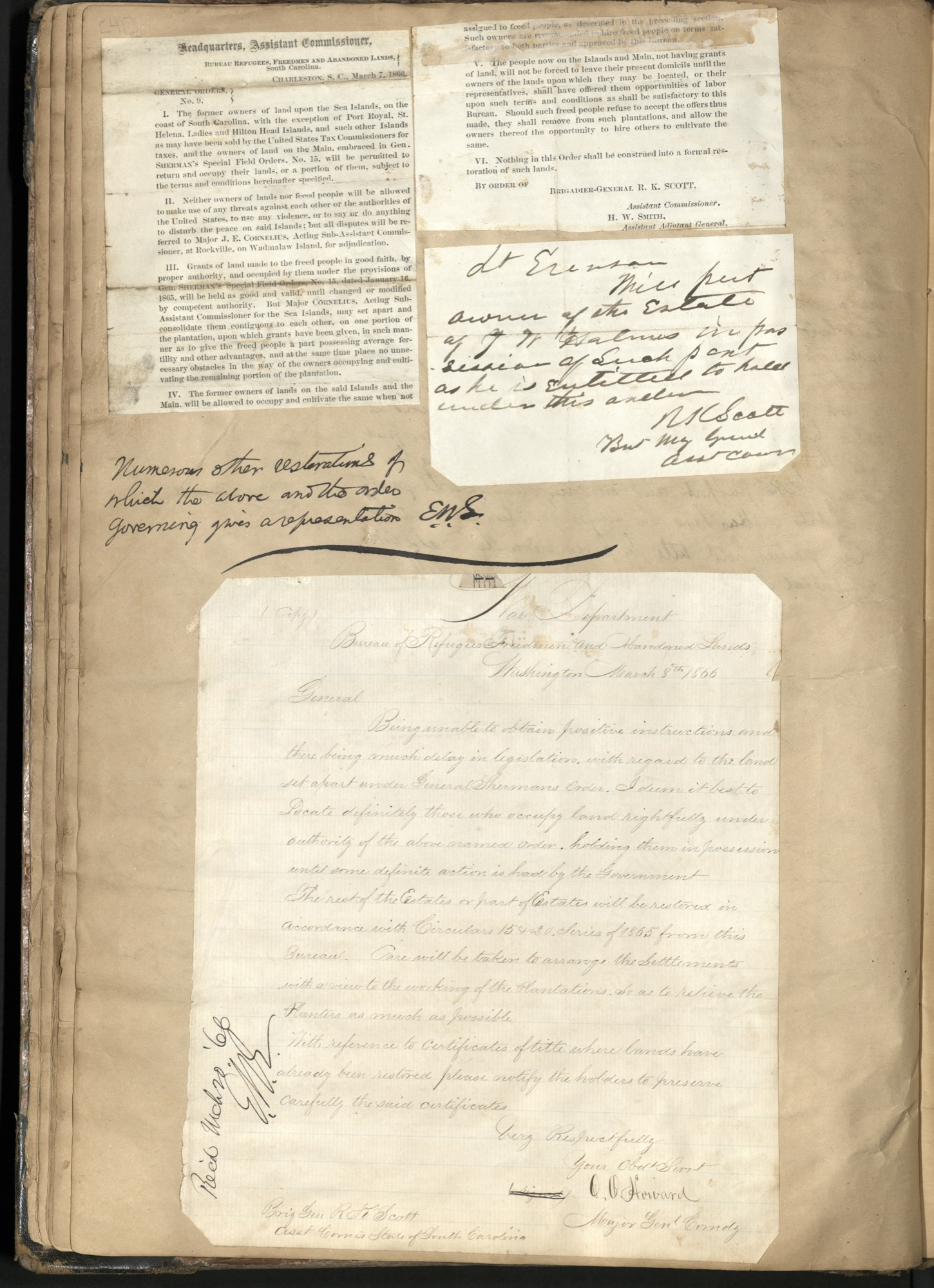 Erastus Everson Diary 1861-1893, page 40