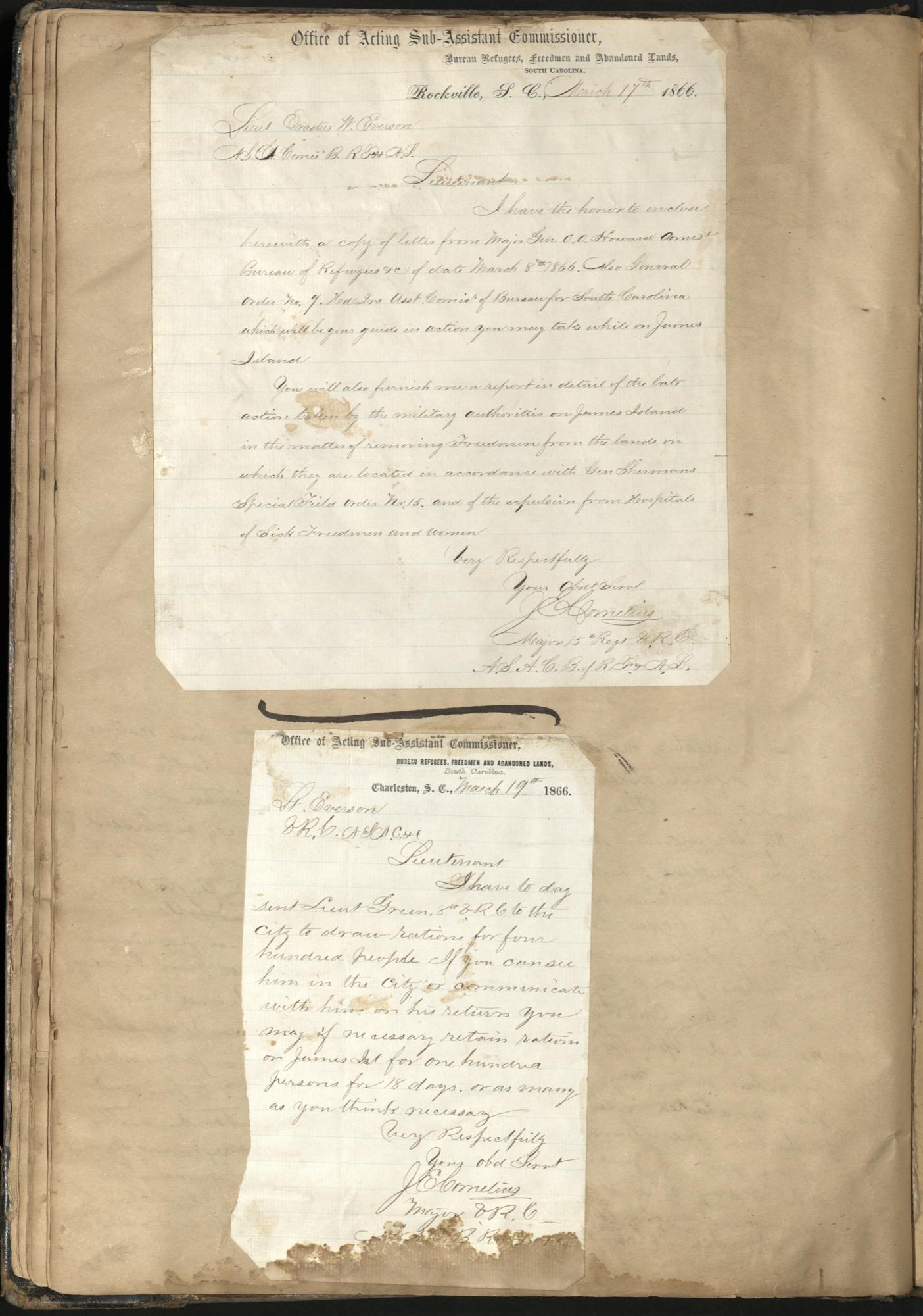 Erastus Everson Diary 1861-1893, page 44
