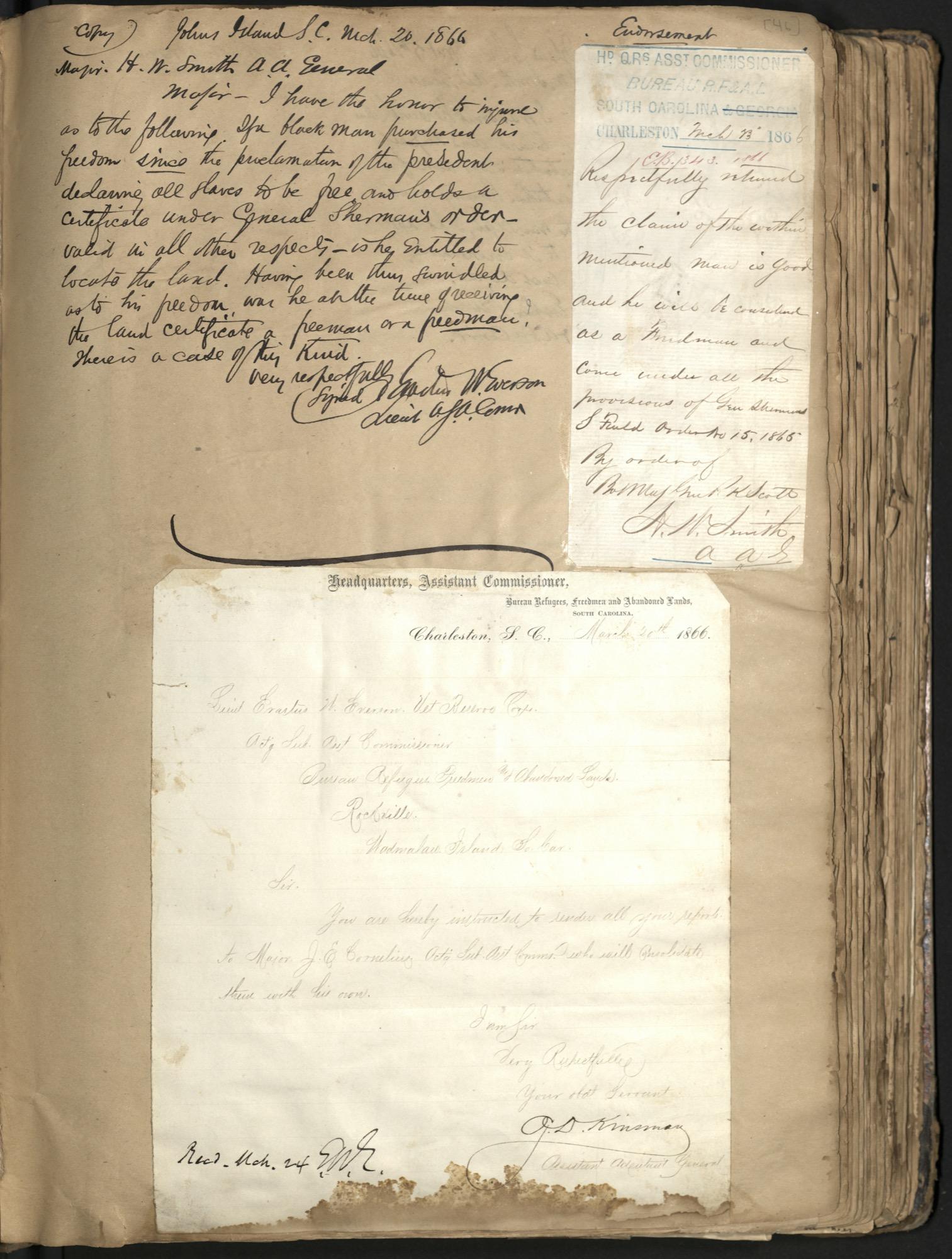 Erastus Everson Diary 1861-1893, page 45