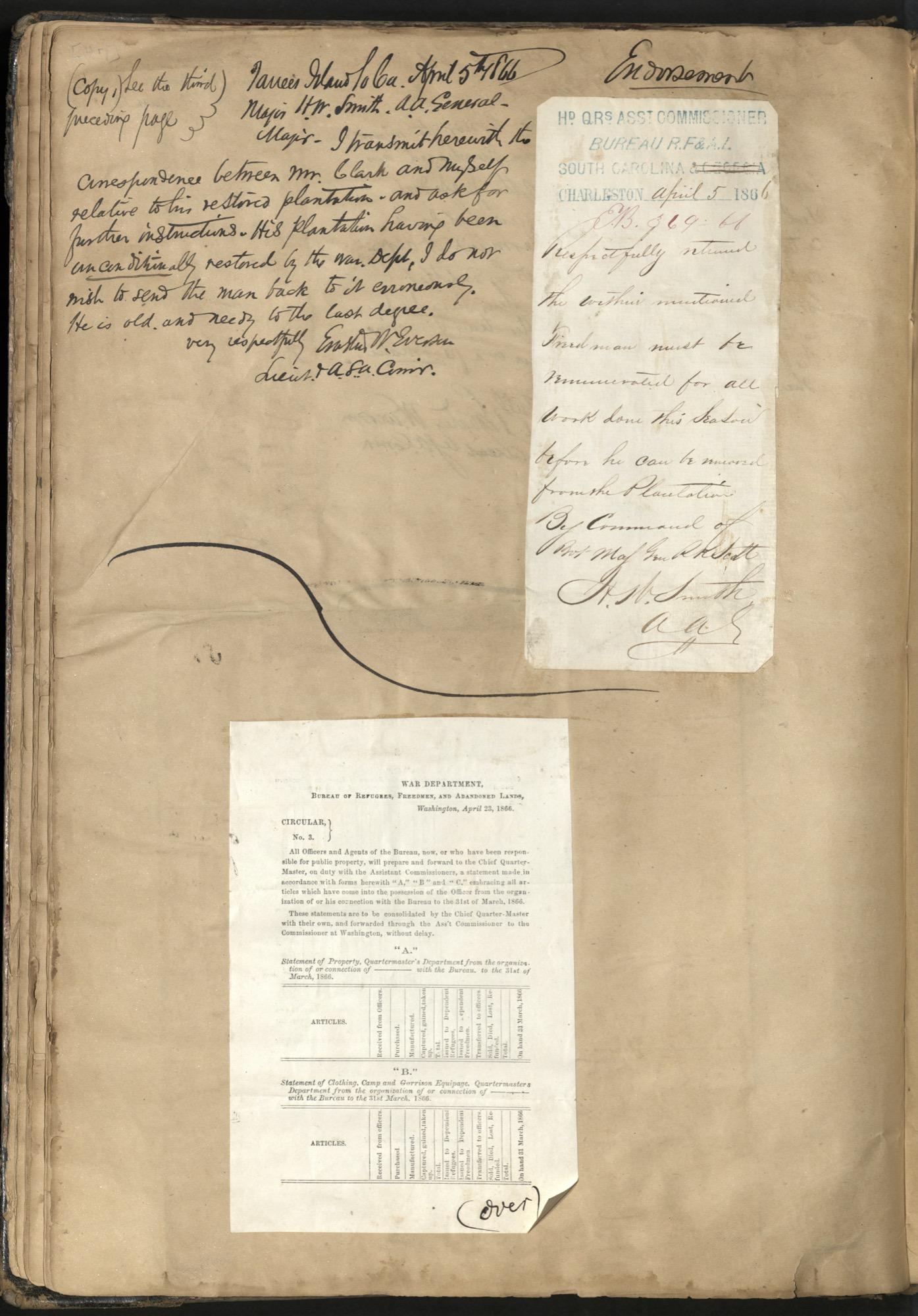 Erastus Everson Diary 1861-1893, page 46