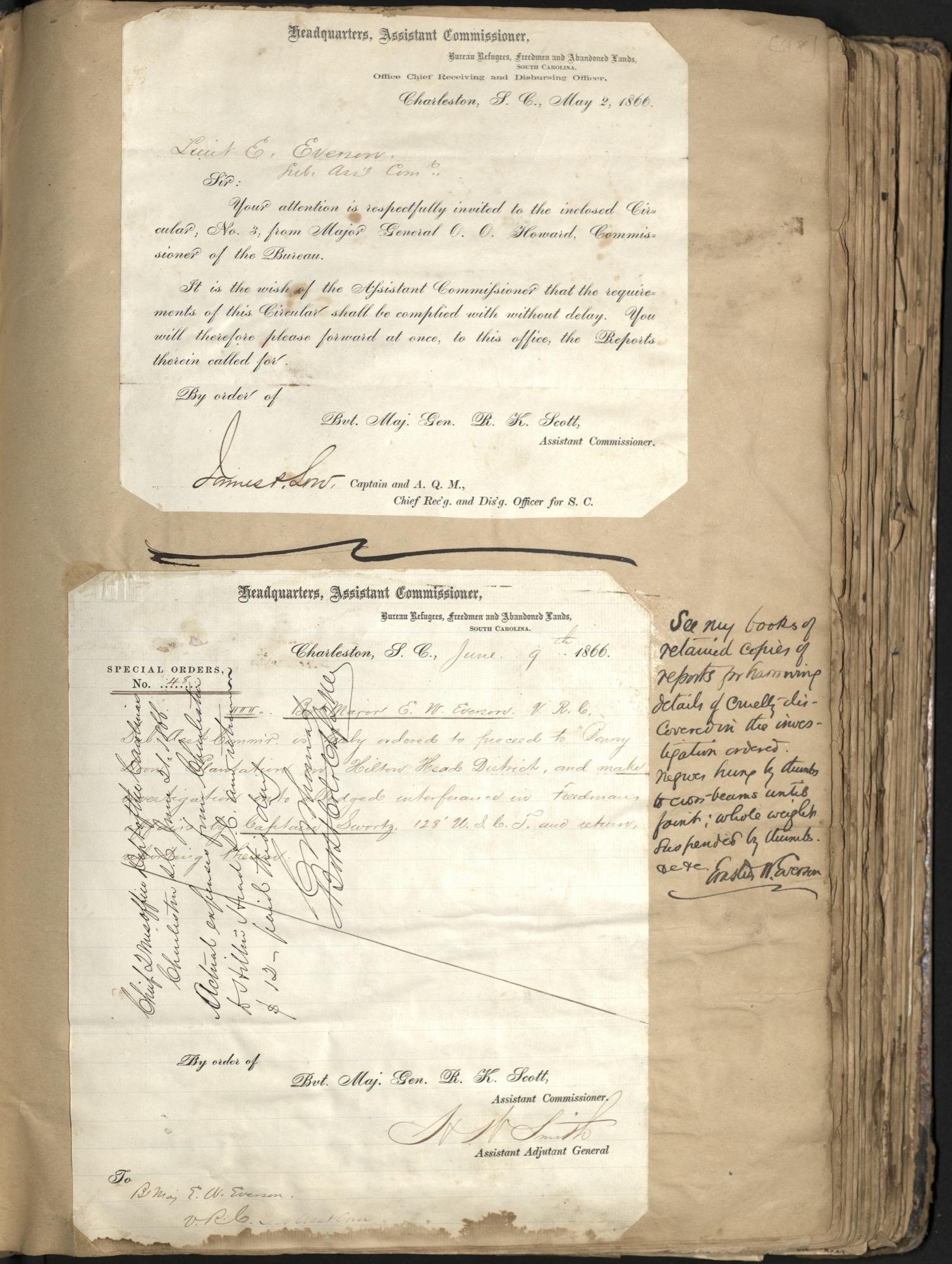 Erastus Everson Diary 1861-1893, page 47