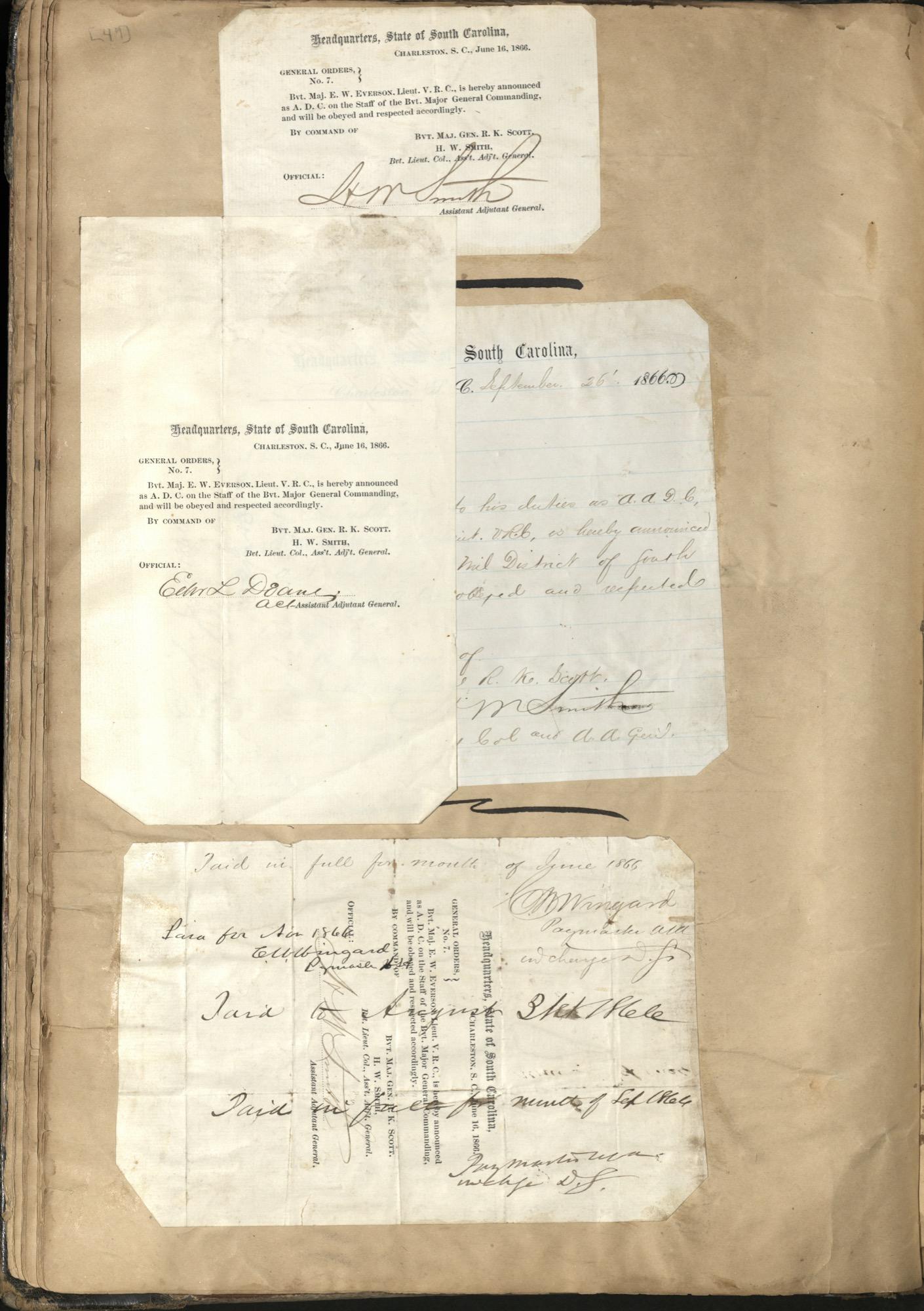 Erastus Everson Diary 1861-1893, page 48