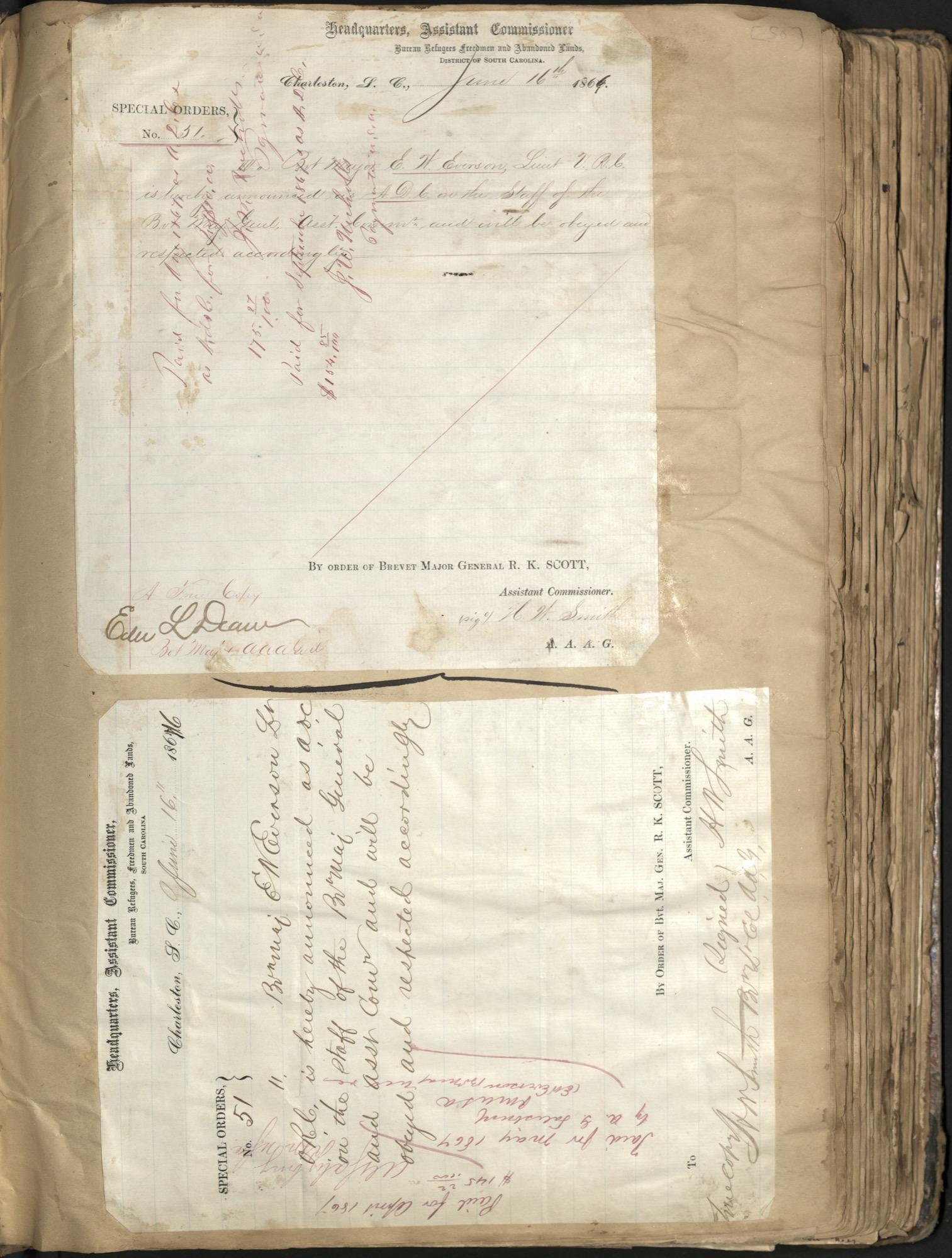 Erastus Everson Diary 1861-1893, page 49