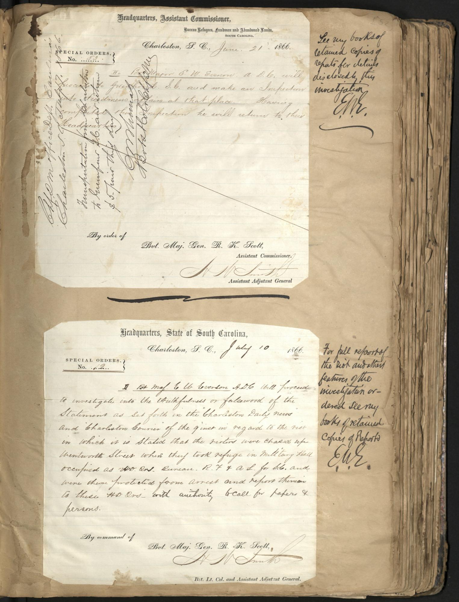 Erastus Everson Diary 1861-1893, page 51