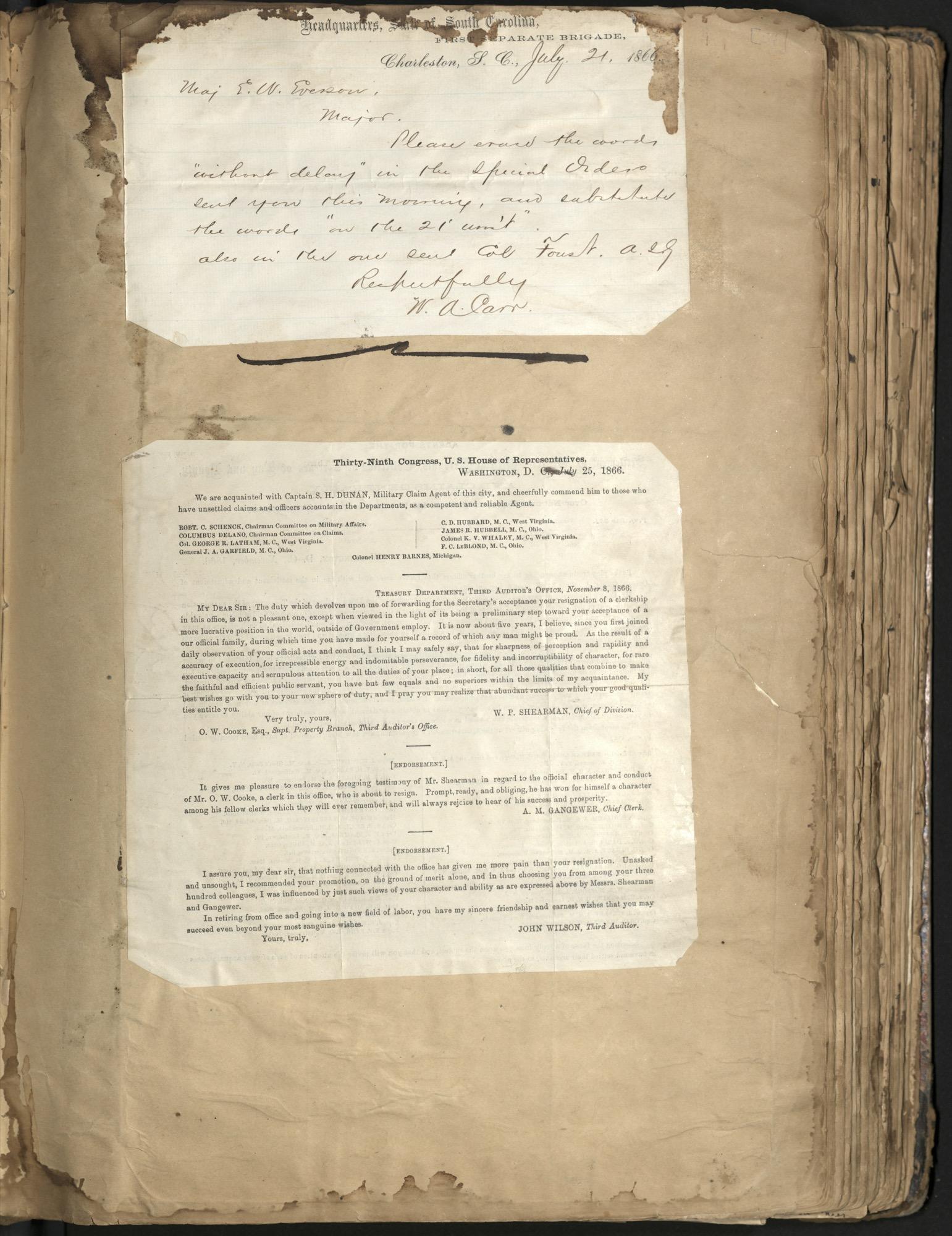 Erastus Everson Diary 1861-1893, page 53