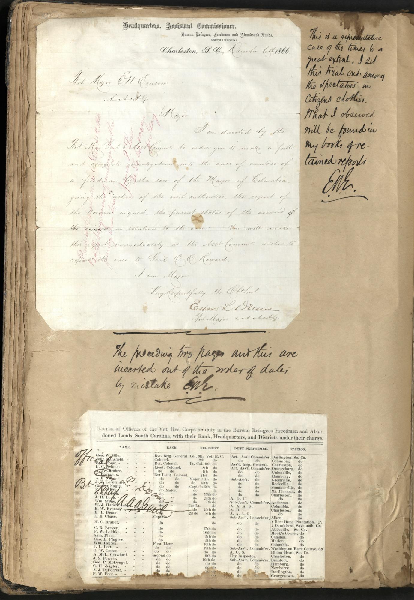 Erastus Everson Diary 1861-1893, page 56