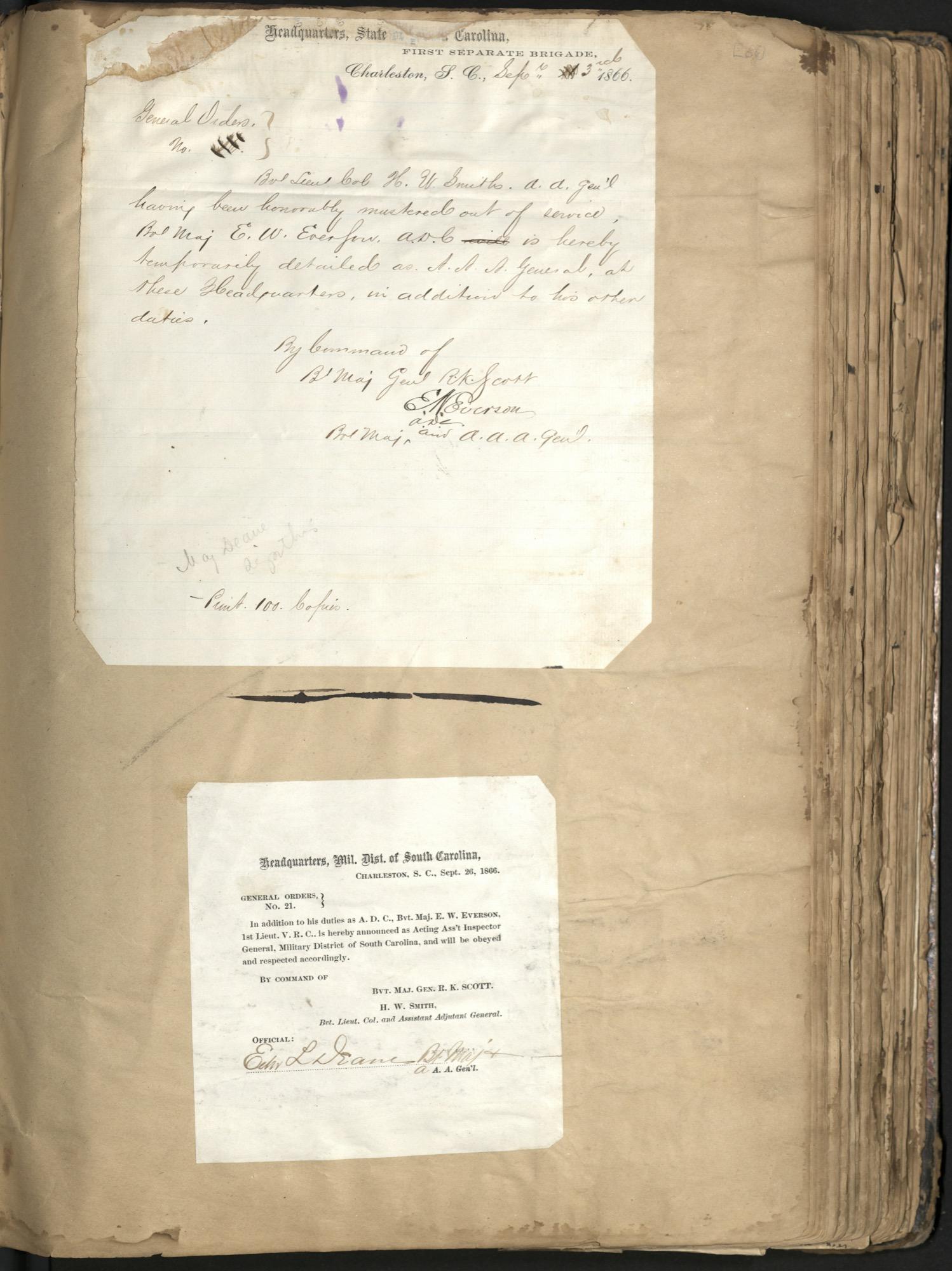 Erastus Everson Diary 1861-1893, page 59