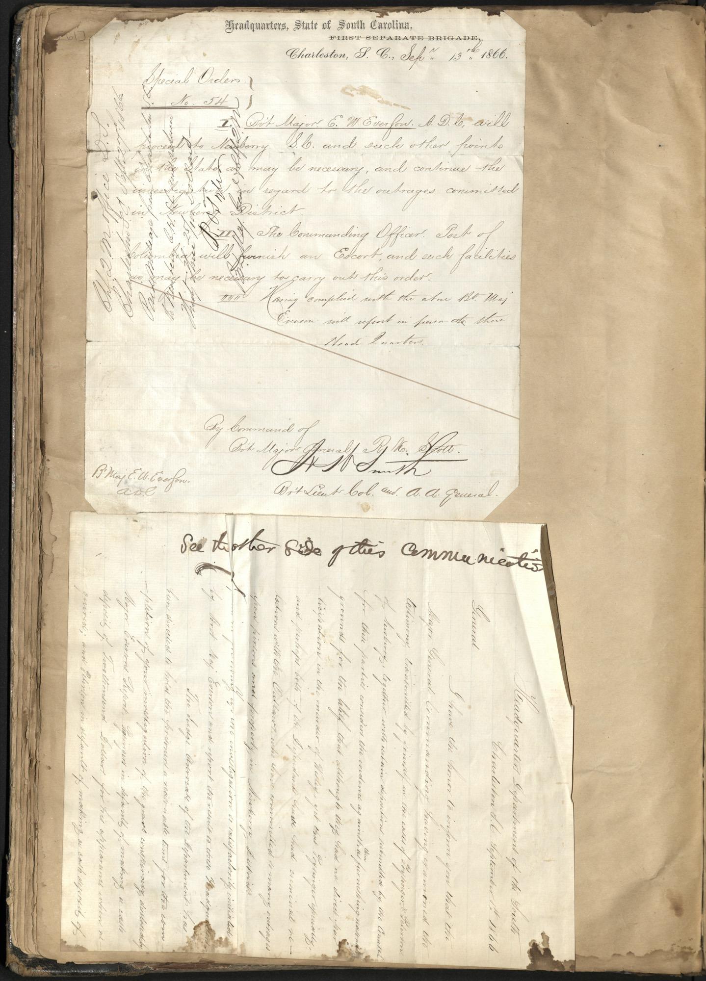 Erastus Everson Diary 1861-1893, page 60