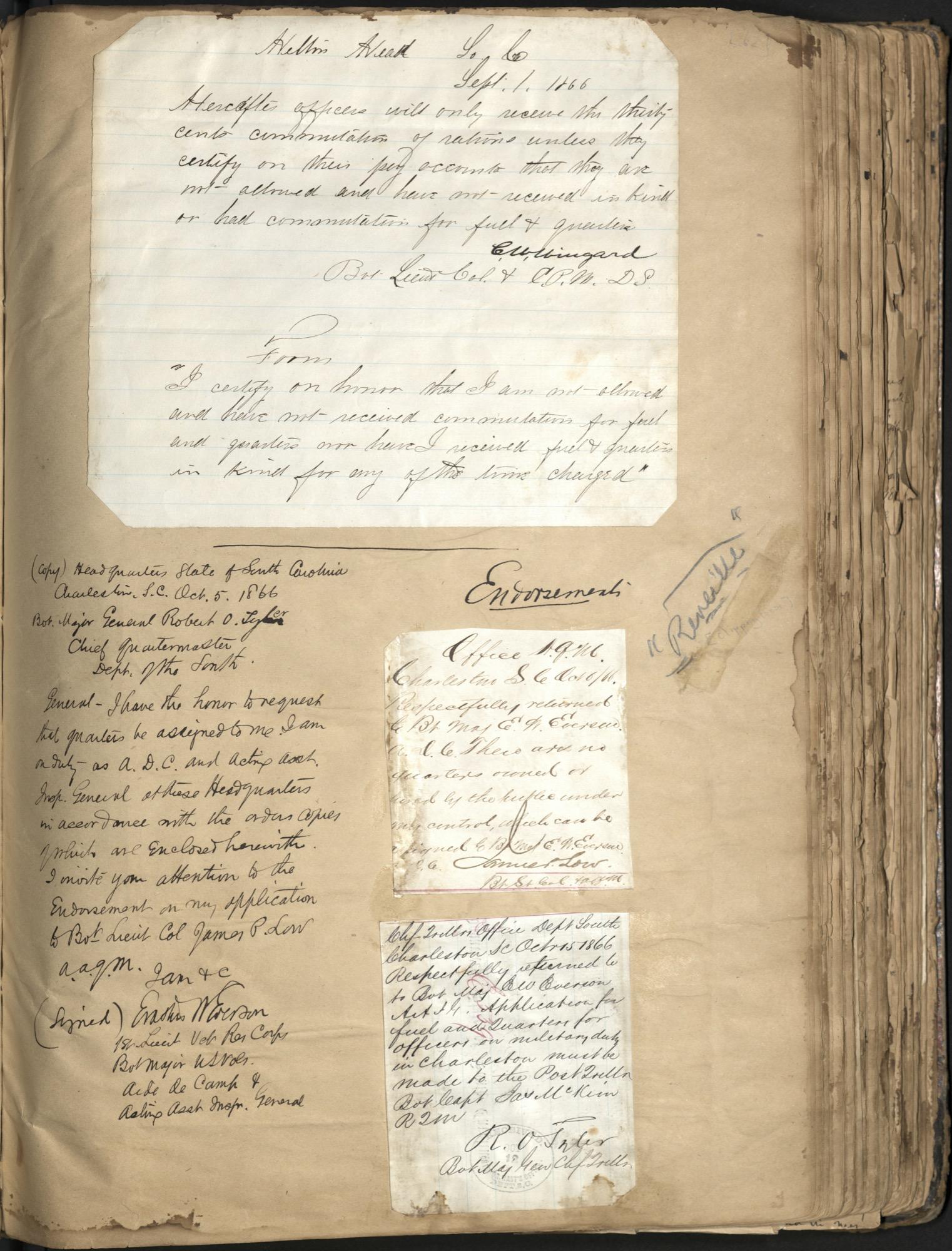 Erastus Everson Diary 1861-1893, page 61